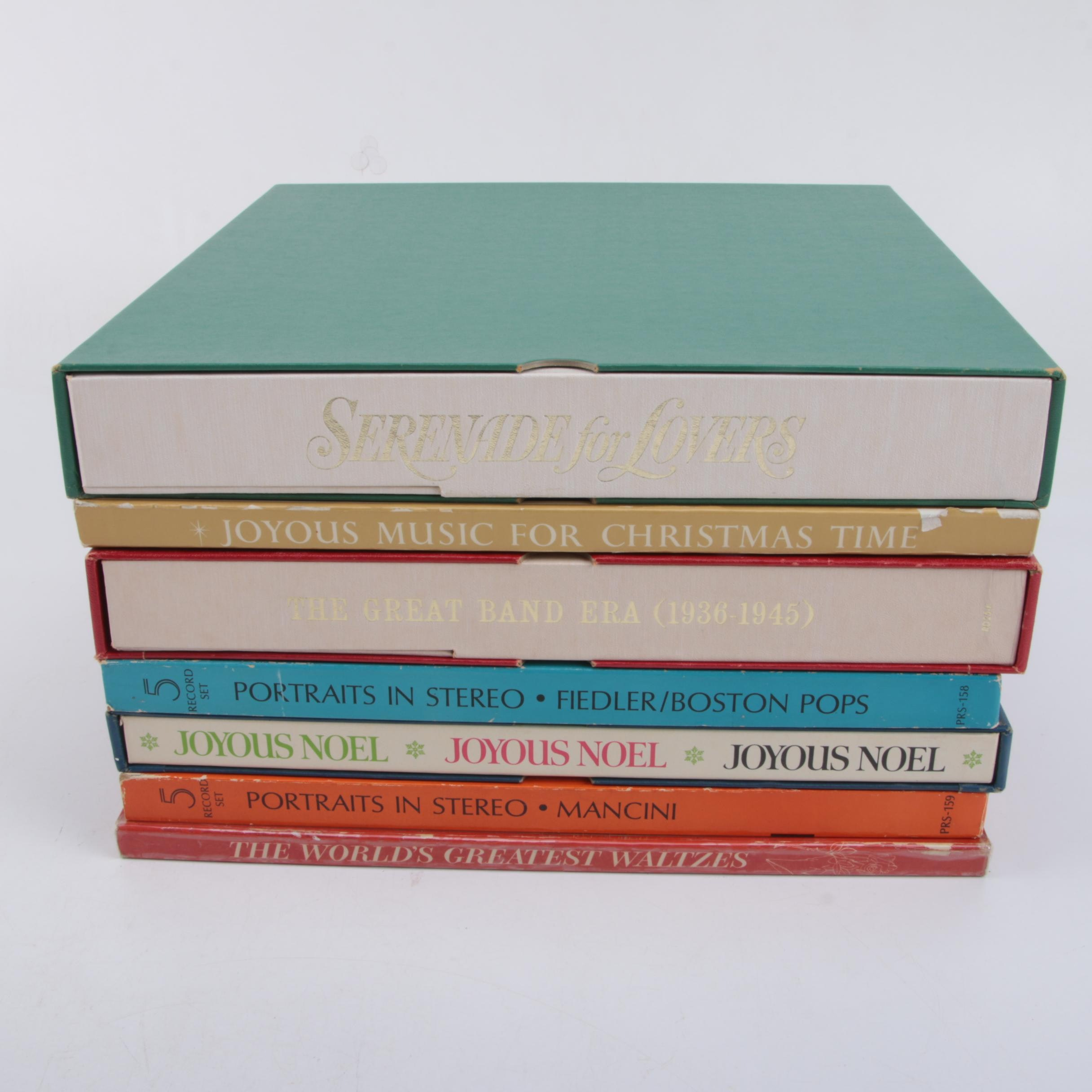 Collection of Record Boxed Sets