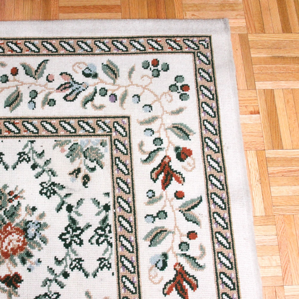 """Power-Loomed Spanish """"Middleton Place"""" Wool Blend Area Rug"""