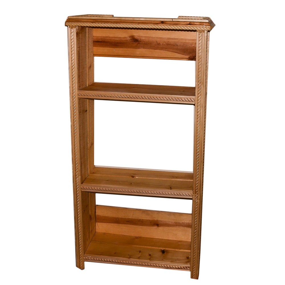 Handmade Wooden Unfinished Bookcase