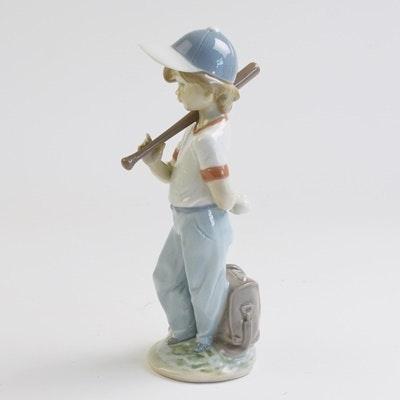 "Lladró ""Can I Play?"" Porcelain Figurine"