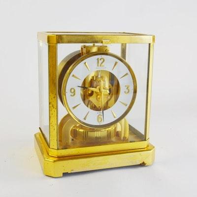 Jaeger-LeCoultre Atmos Brass Mantel Clock