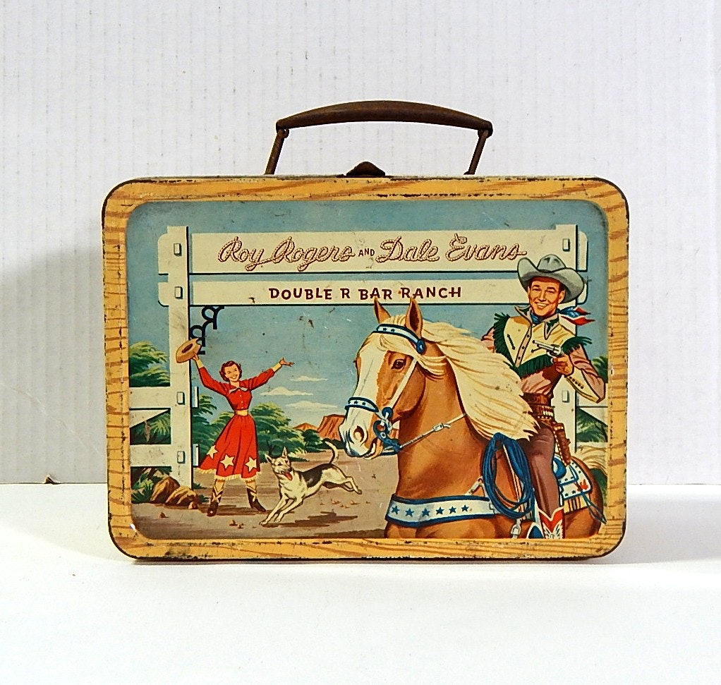 1950s Roy Rogers Lunch Box