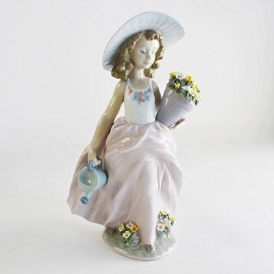 "Lladró ""A Wish Come True"" Porcelain Figurine"