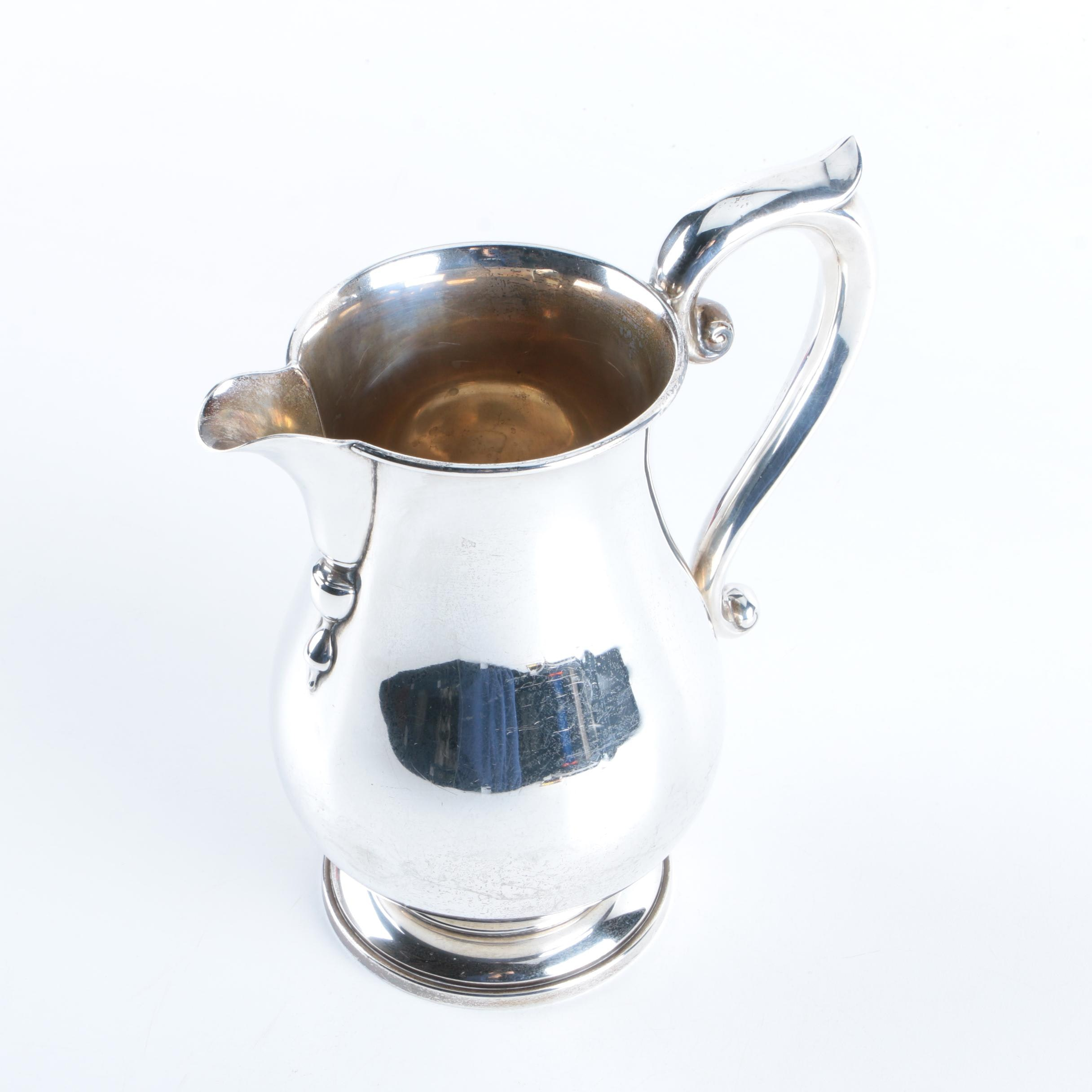 Frank M. Whiting & Company Paul Revere Style Sterling Silver Pitcher