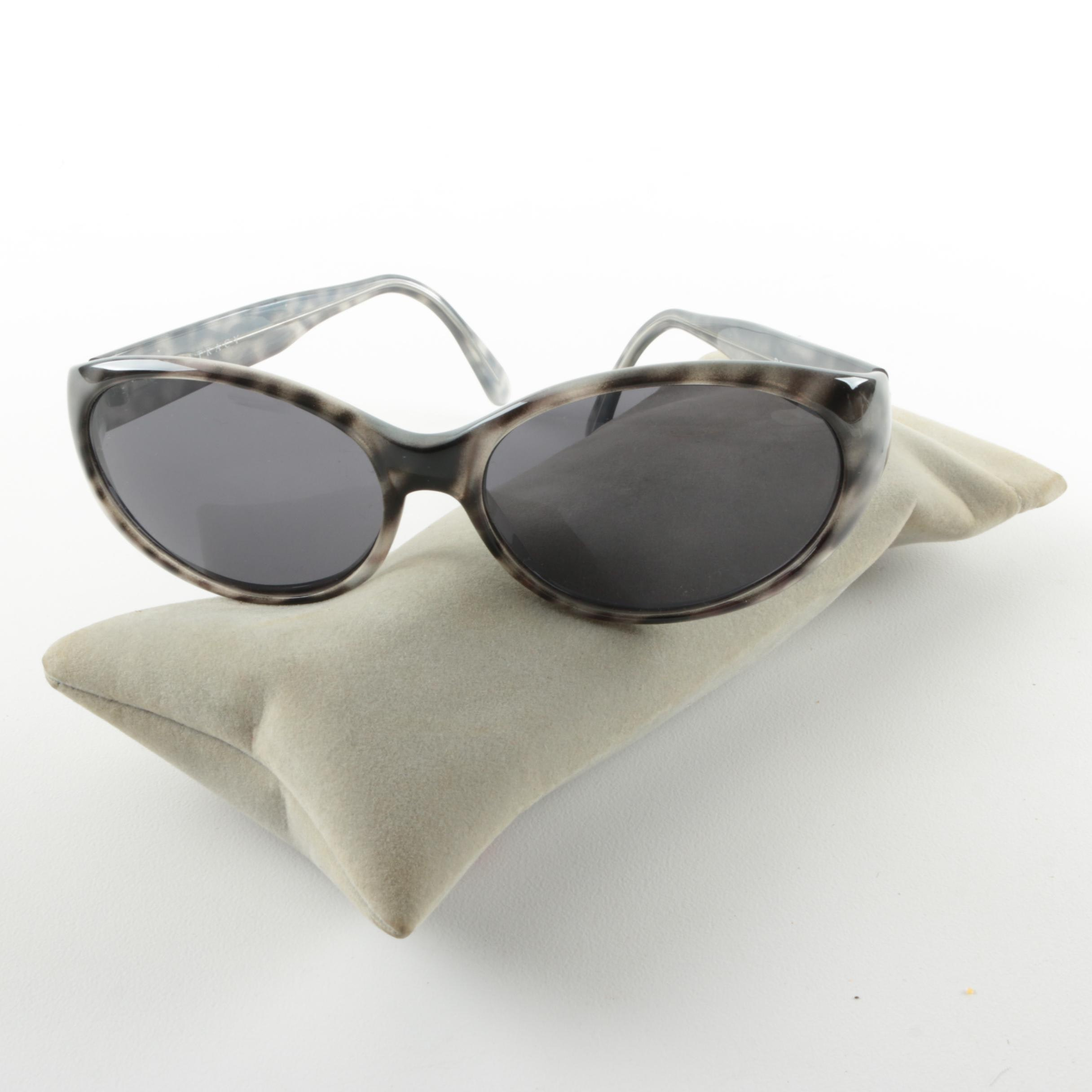 Ellen Tracy Faux Horn Sunglasses