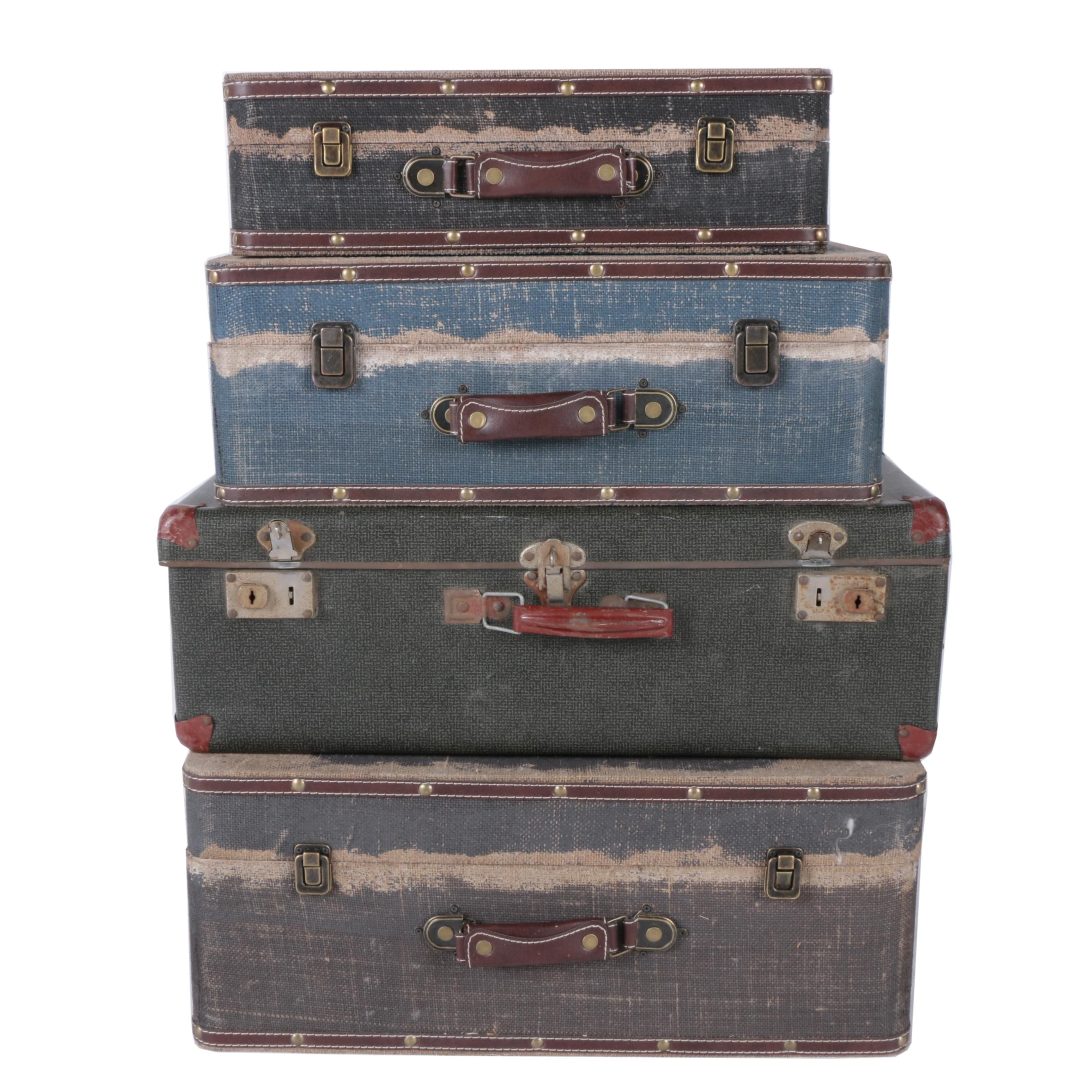 Vintage Hardcover Suitcases
