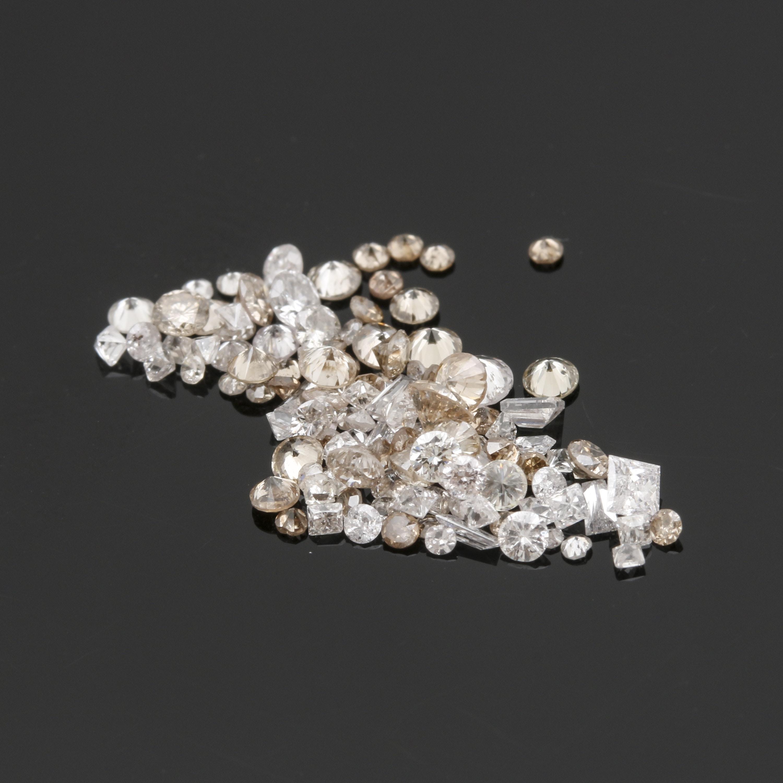 Loose 1.38 CTW Diamond Assortment