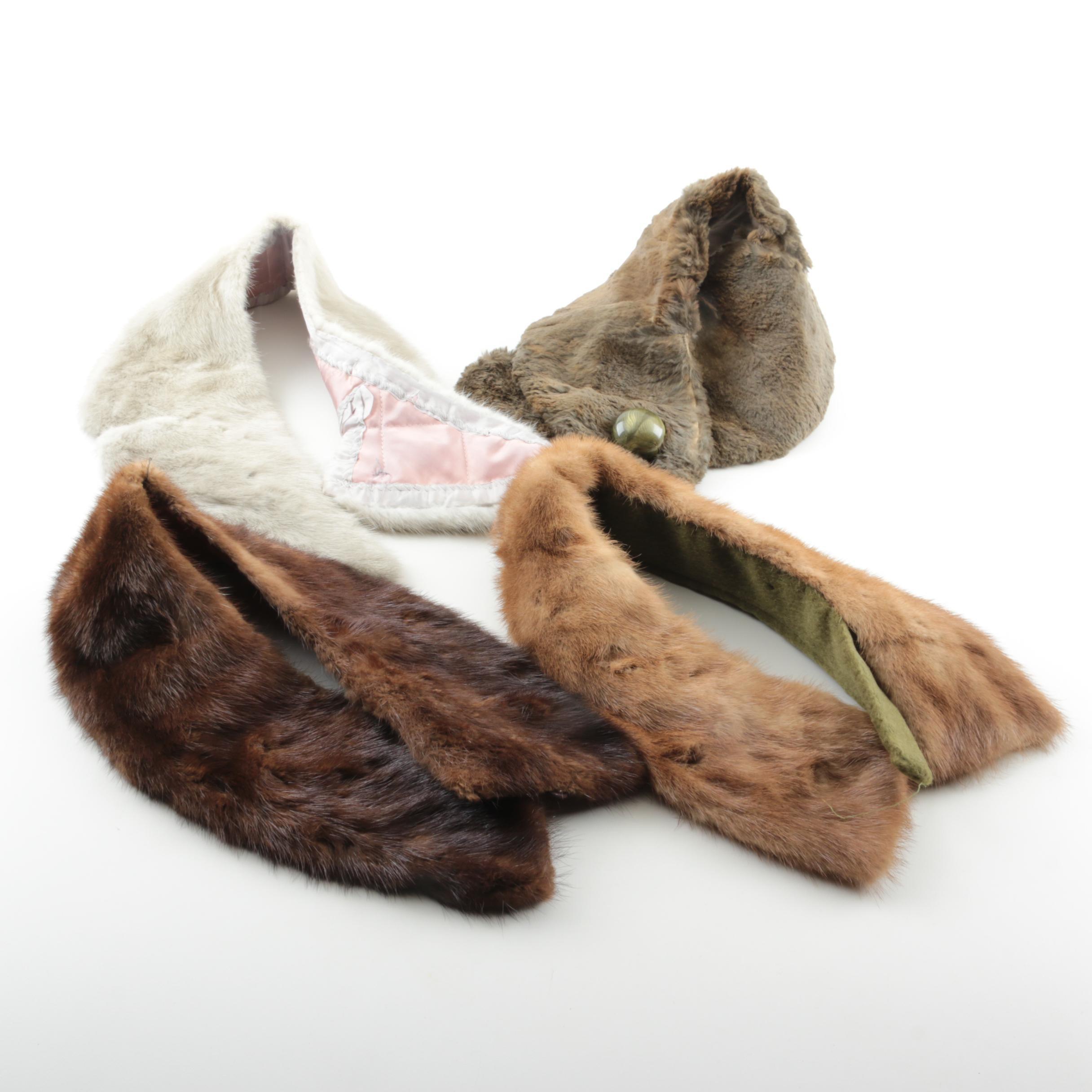 Fur Collars Including Mink