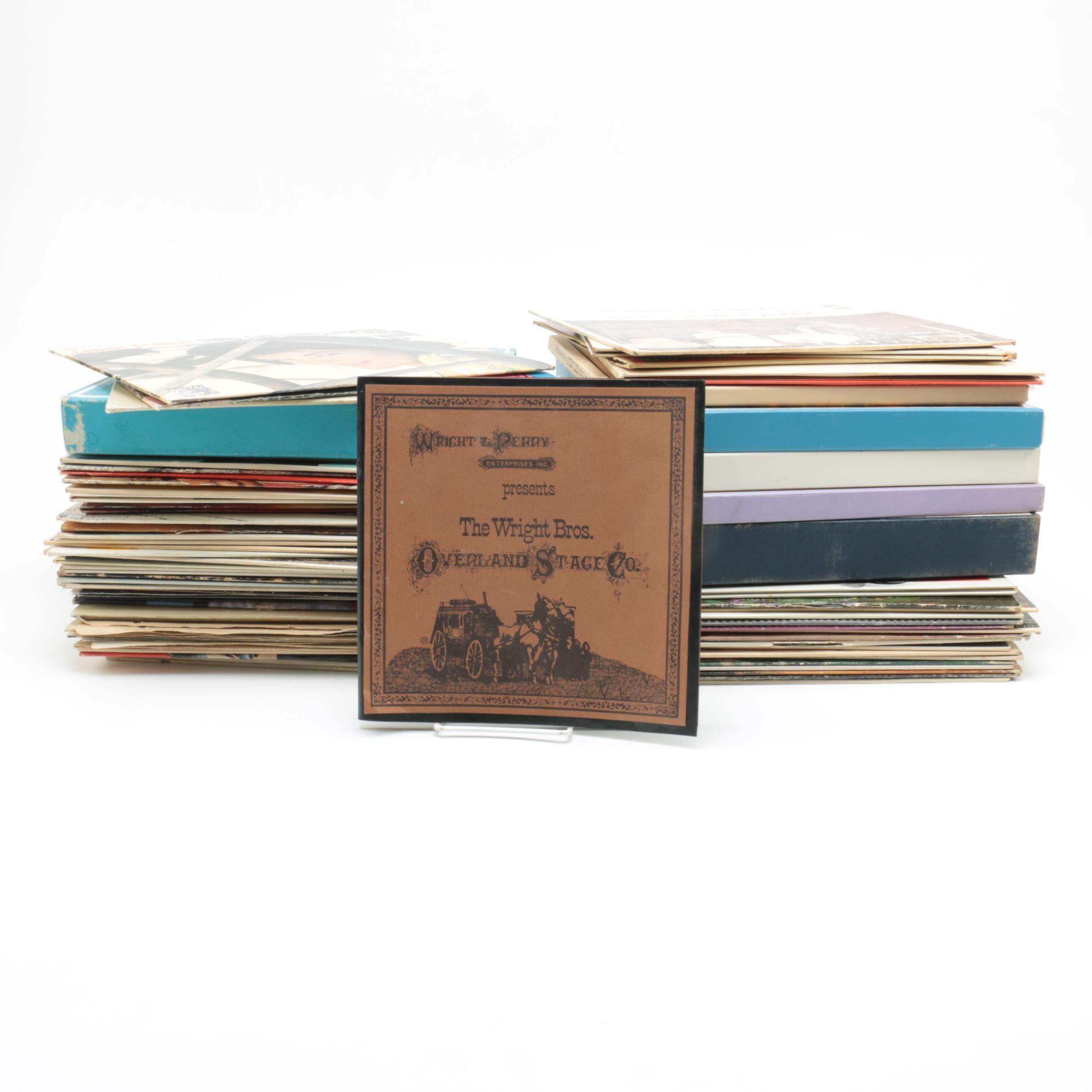 Classical, Folk, and Broadway Records with Boxed Sets Including Cole Porter