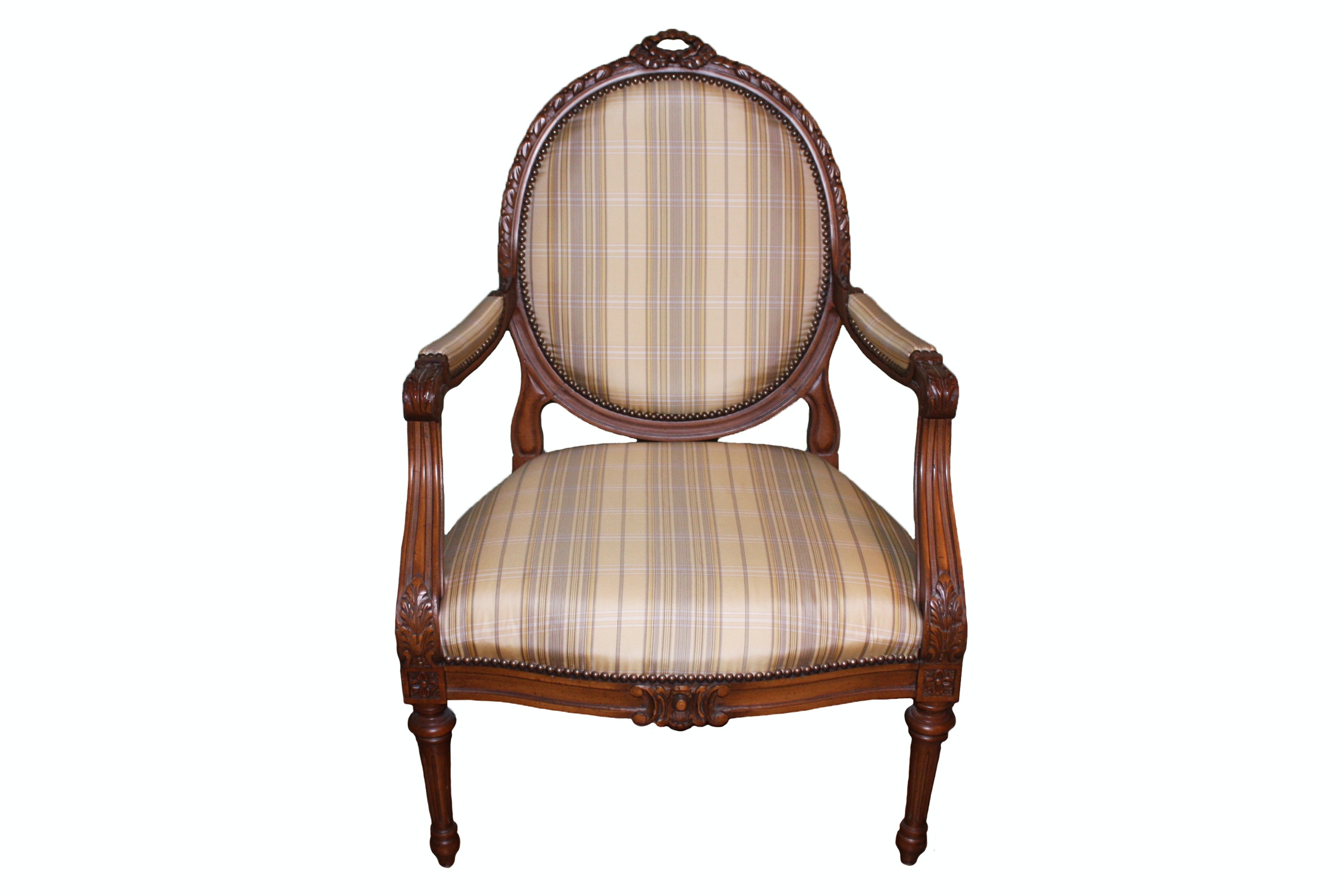 Louis XVI Balloon Back Chair by Isenhour Furniture