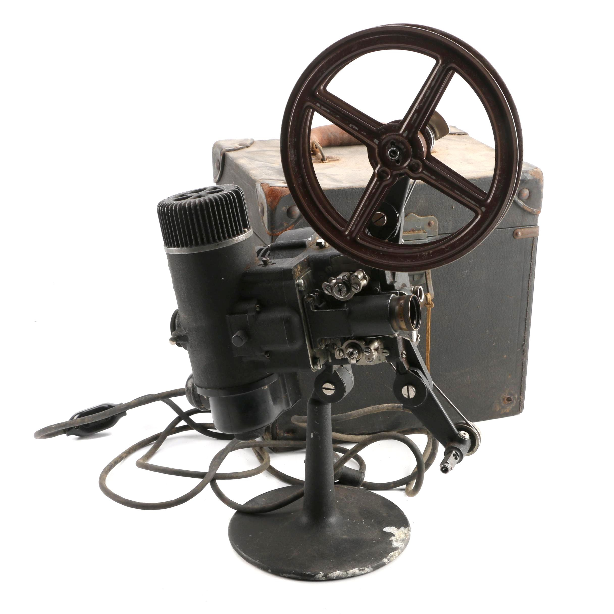 Vintage Bell and Howell Cine Projector in Case