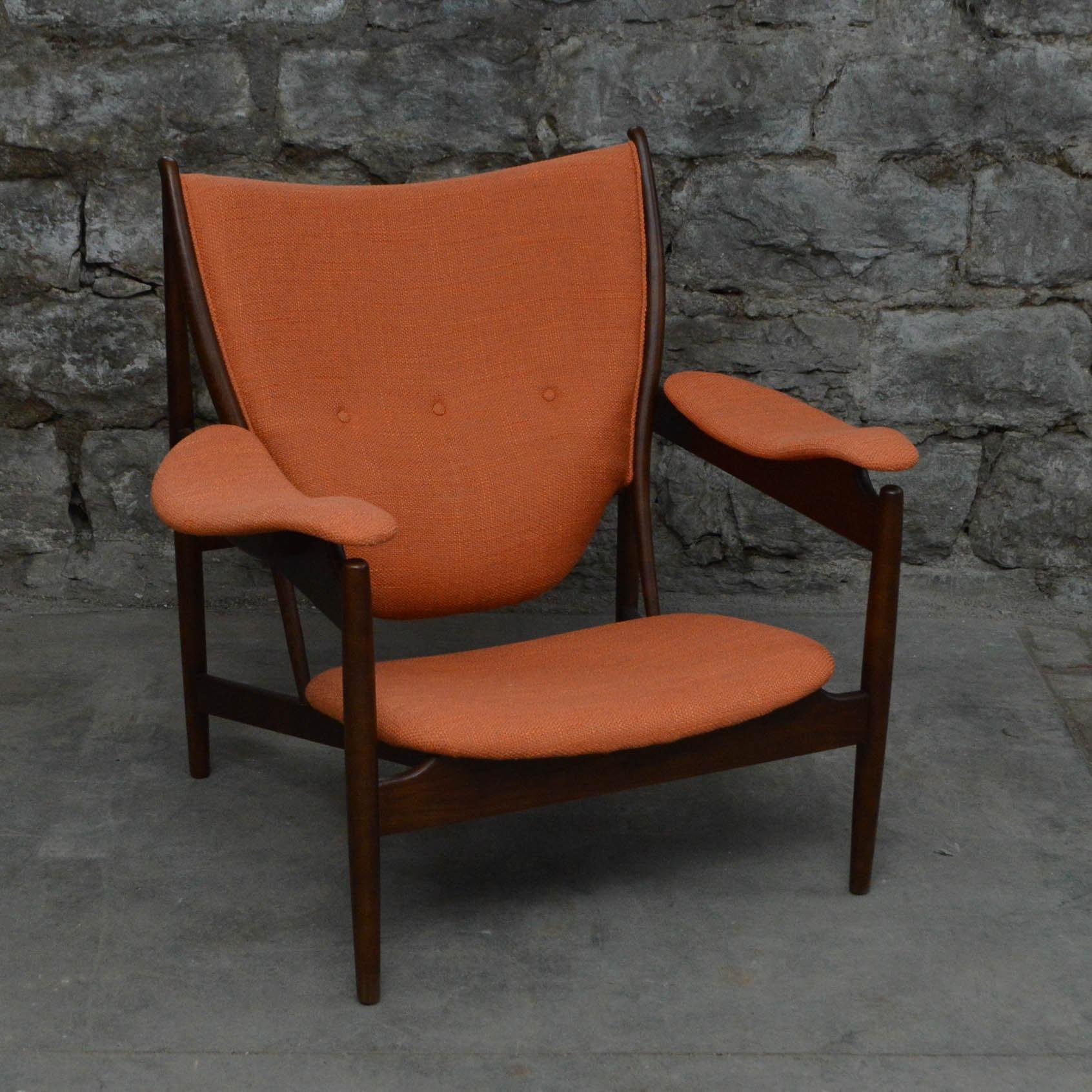 Danish Modern Armchair, After Finn Juhl