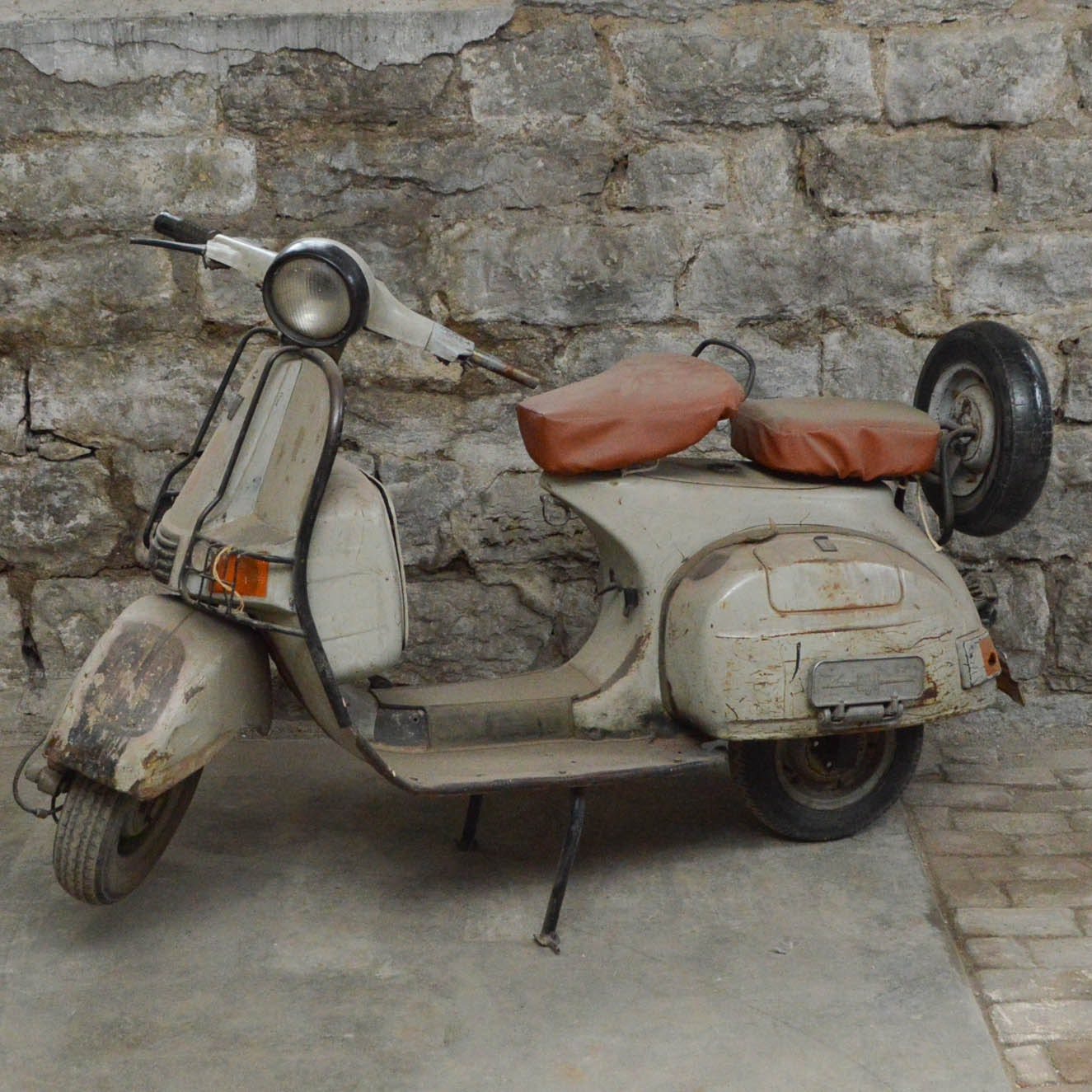 Vintage Decorative Bajaj Super Scooter