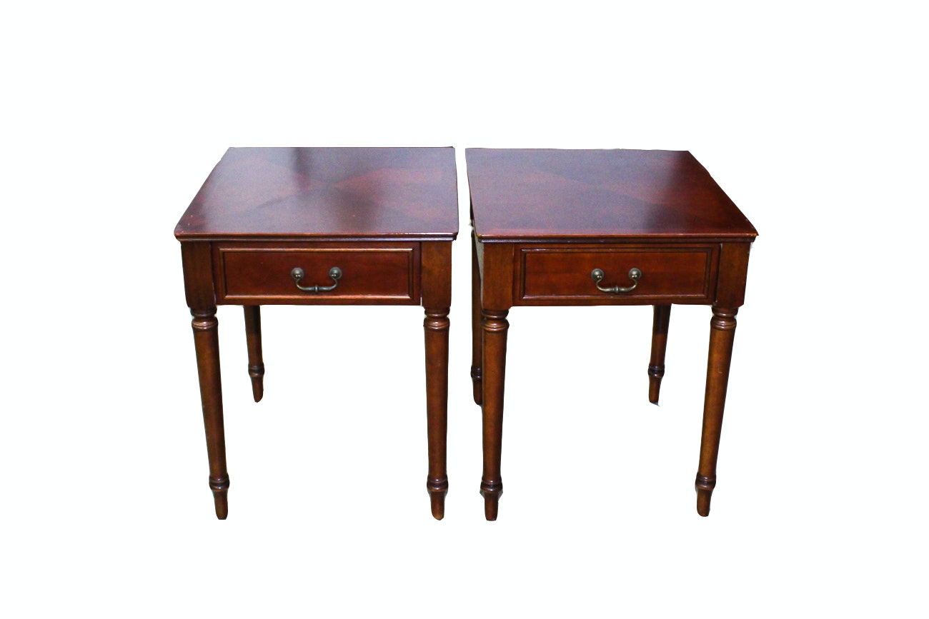 Pair of Bombay Company End Tables