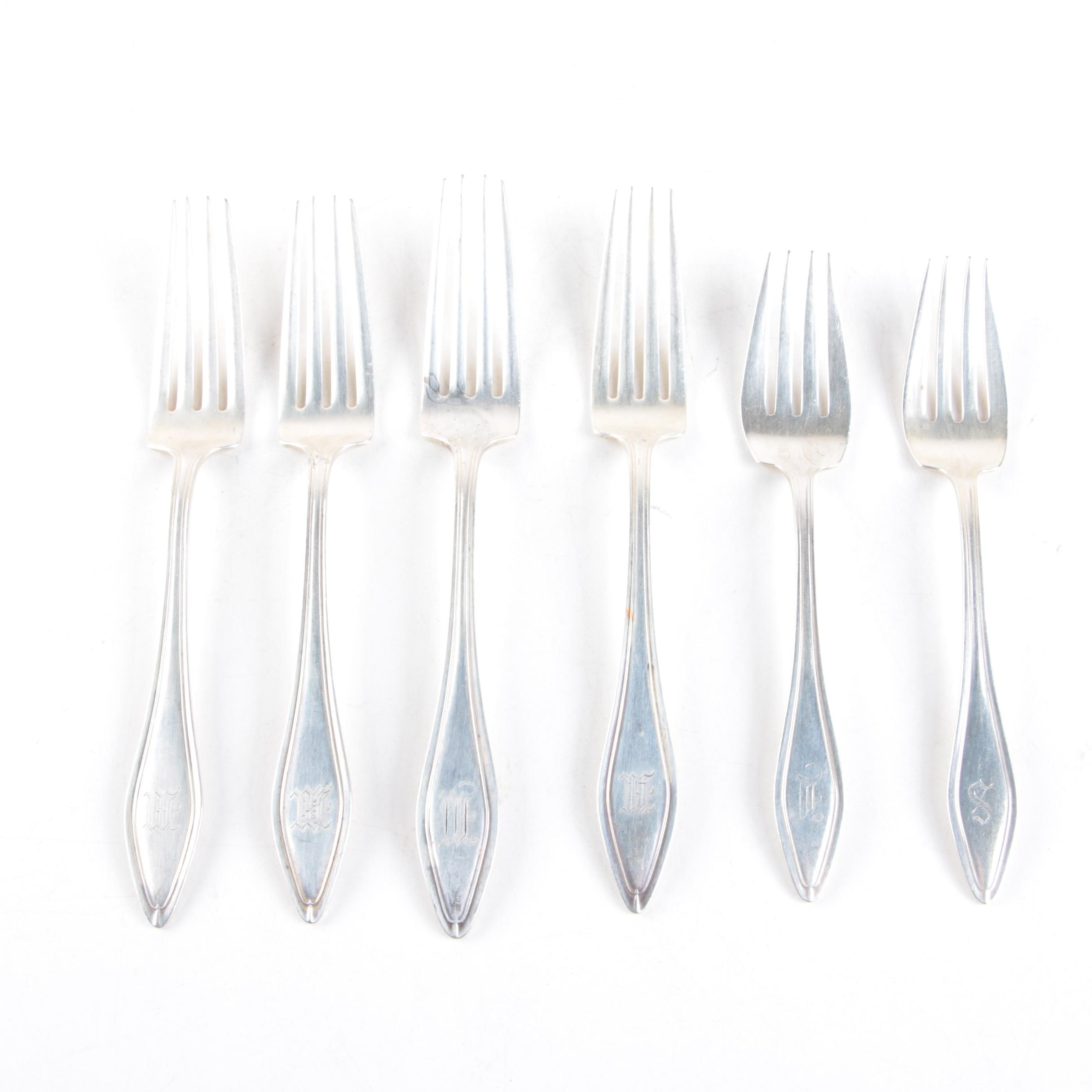 """Towle """"Mary Chilton"""" Sterling Silver Forks"""