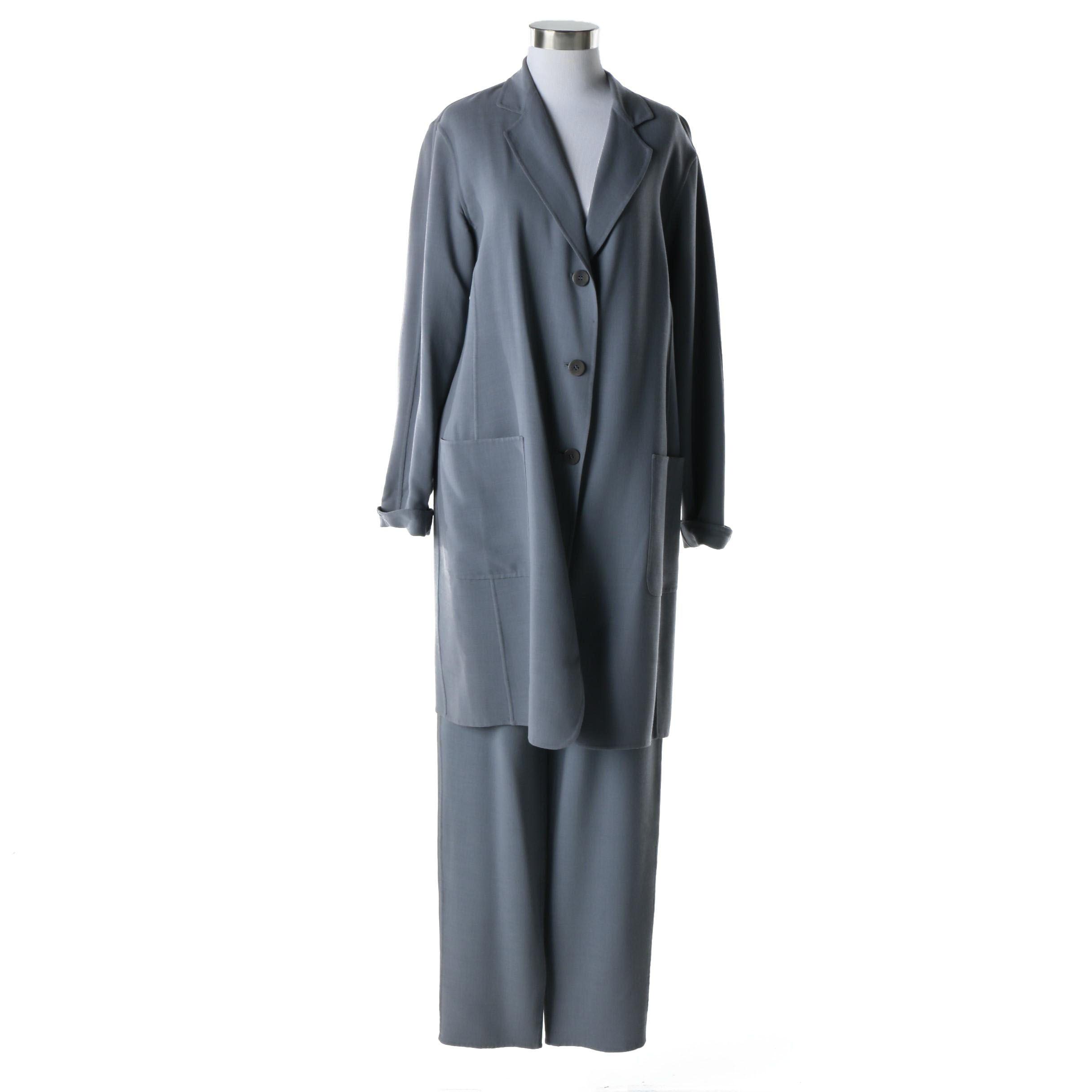Women's Lafayette New York 148 Wool Pantsuit