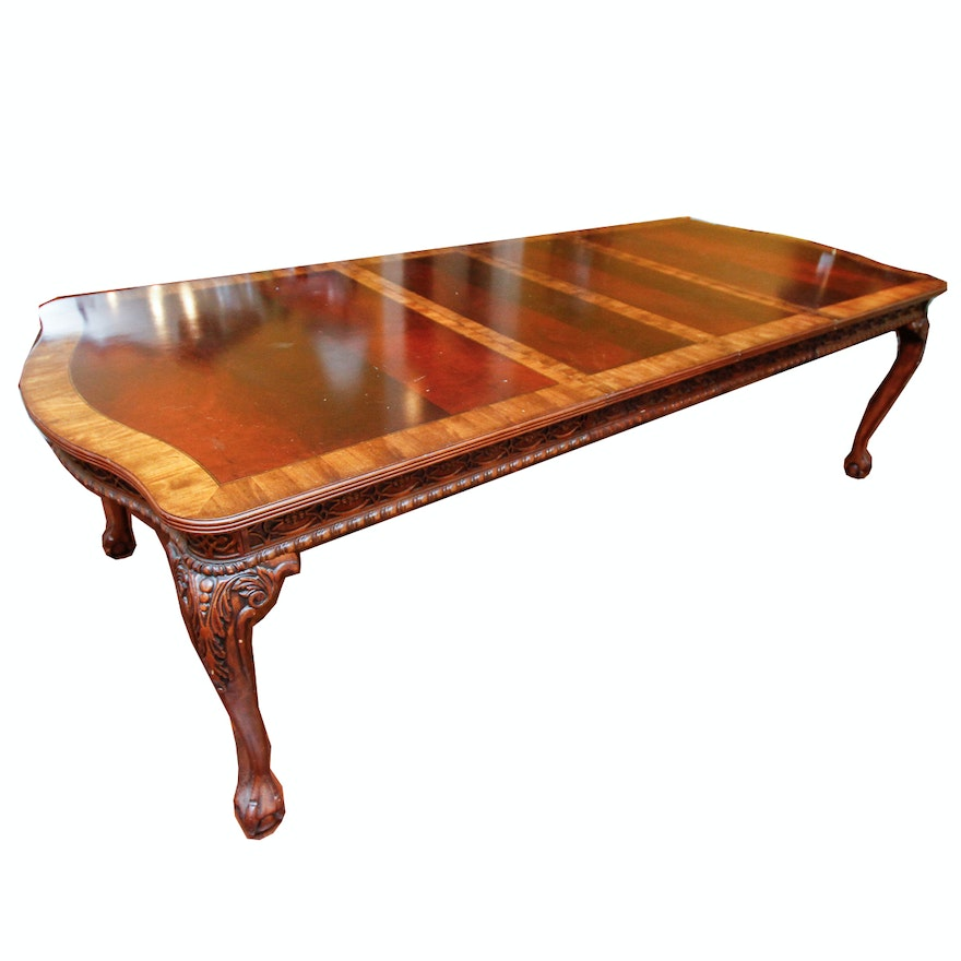 chippendale style mahogany dining table - Mahogany Dining Table