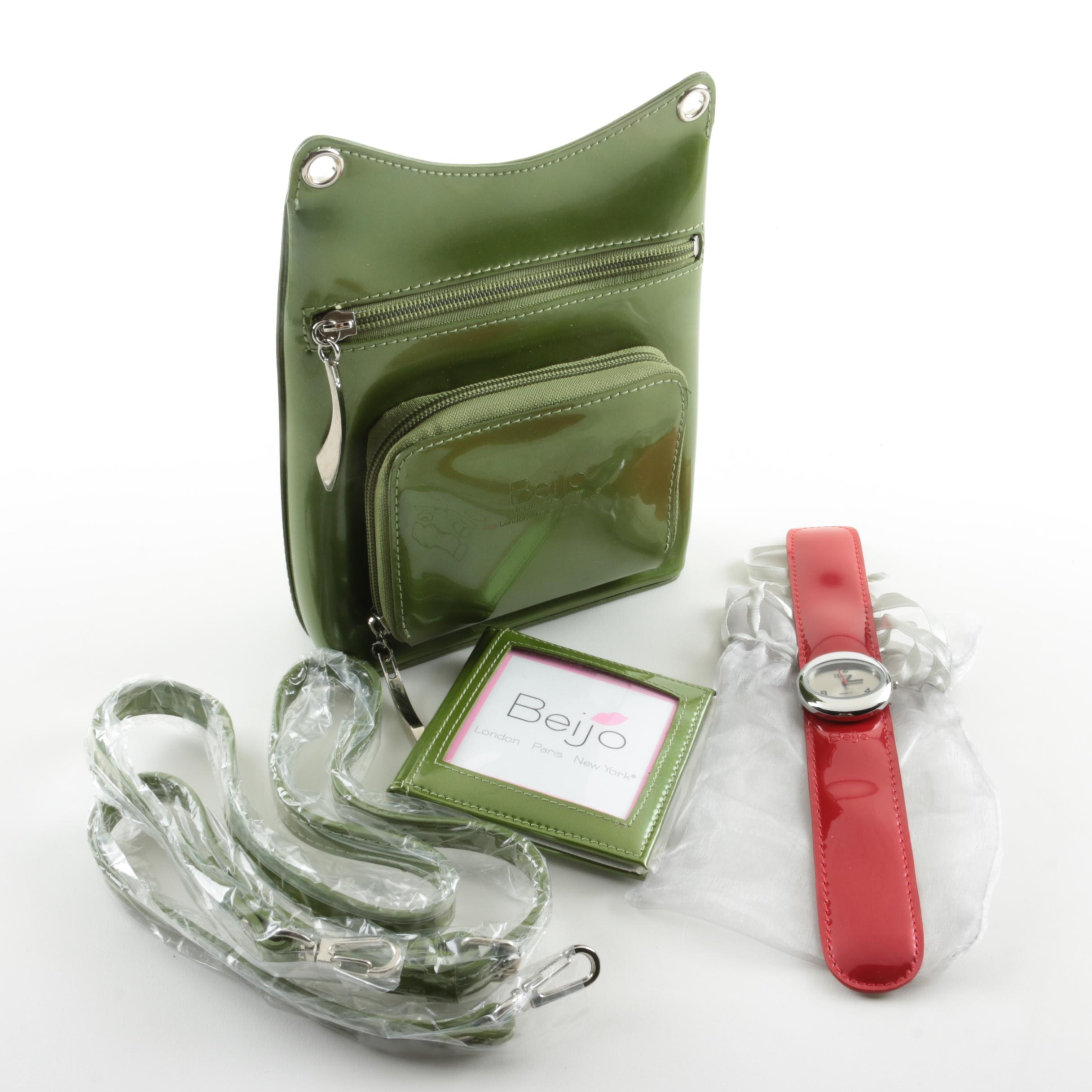 Beijo Green Crossbody Handbag and More
