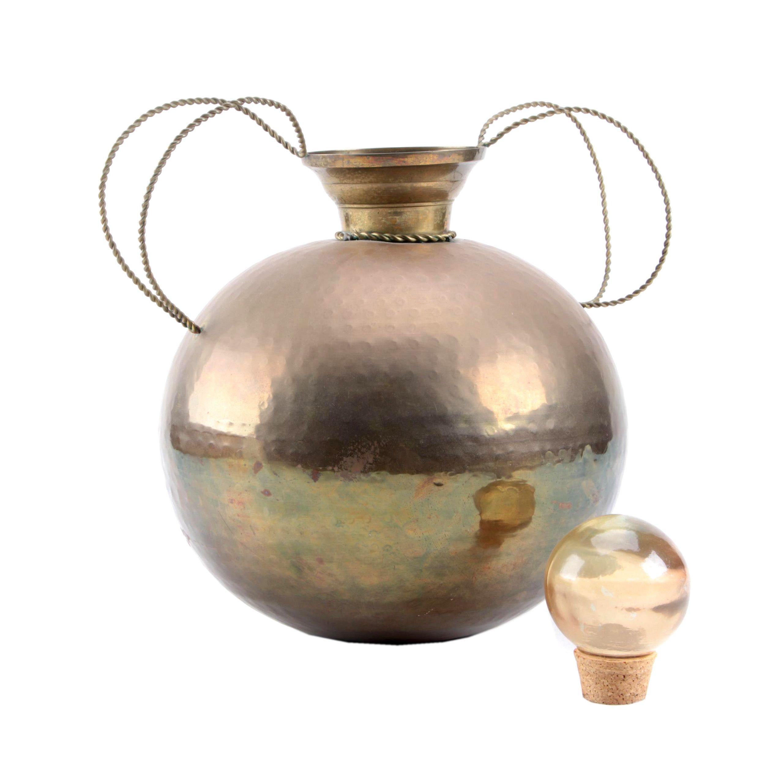 Indian Brass Vessel