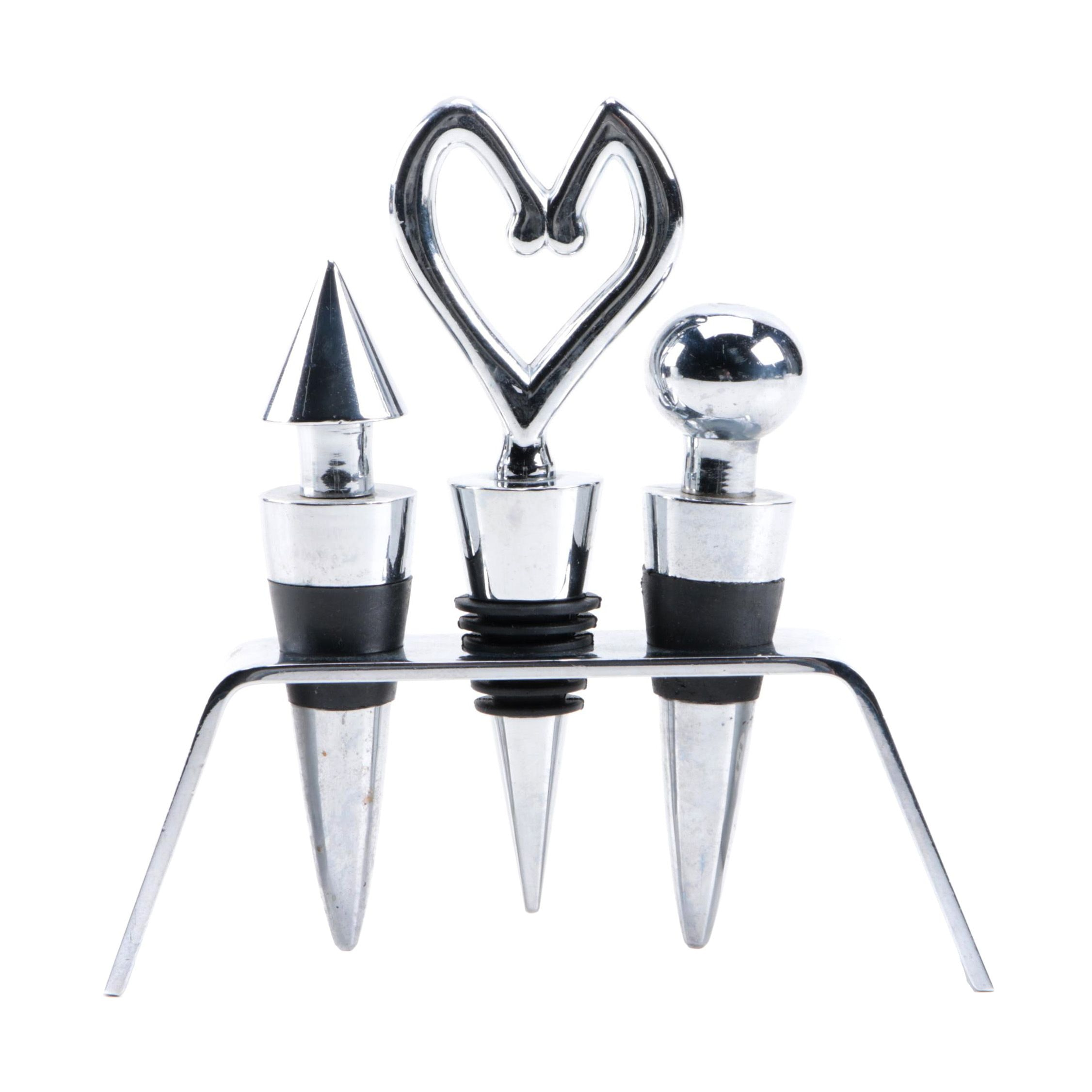 Wine Bottle Stopper Set