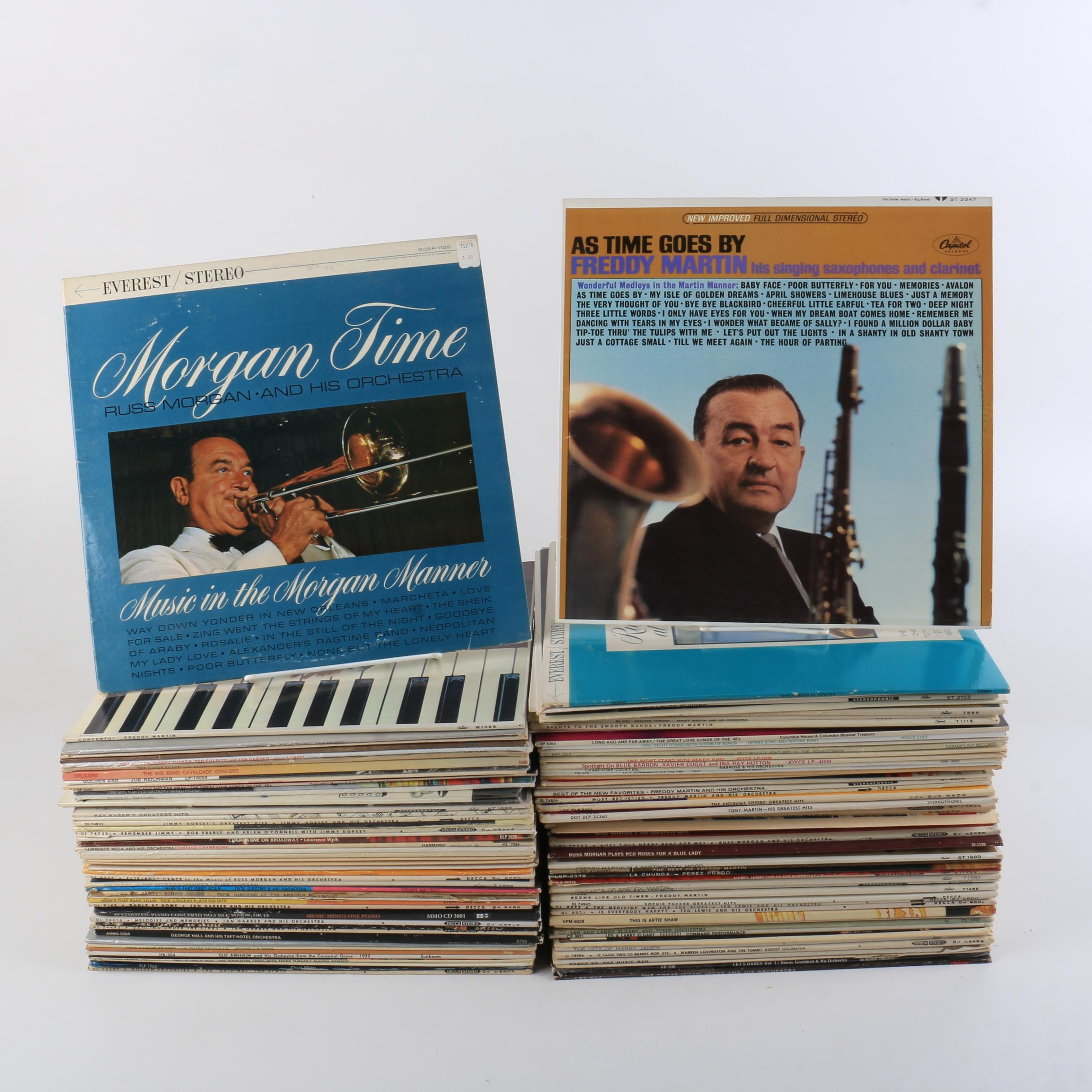 Big Band and Jazz Records