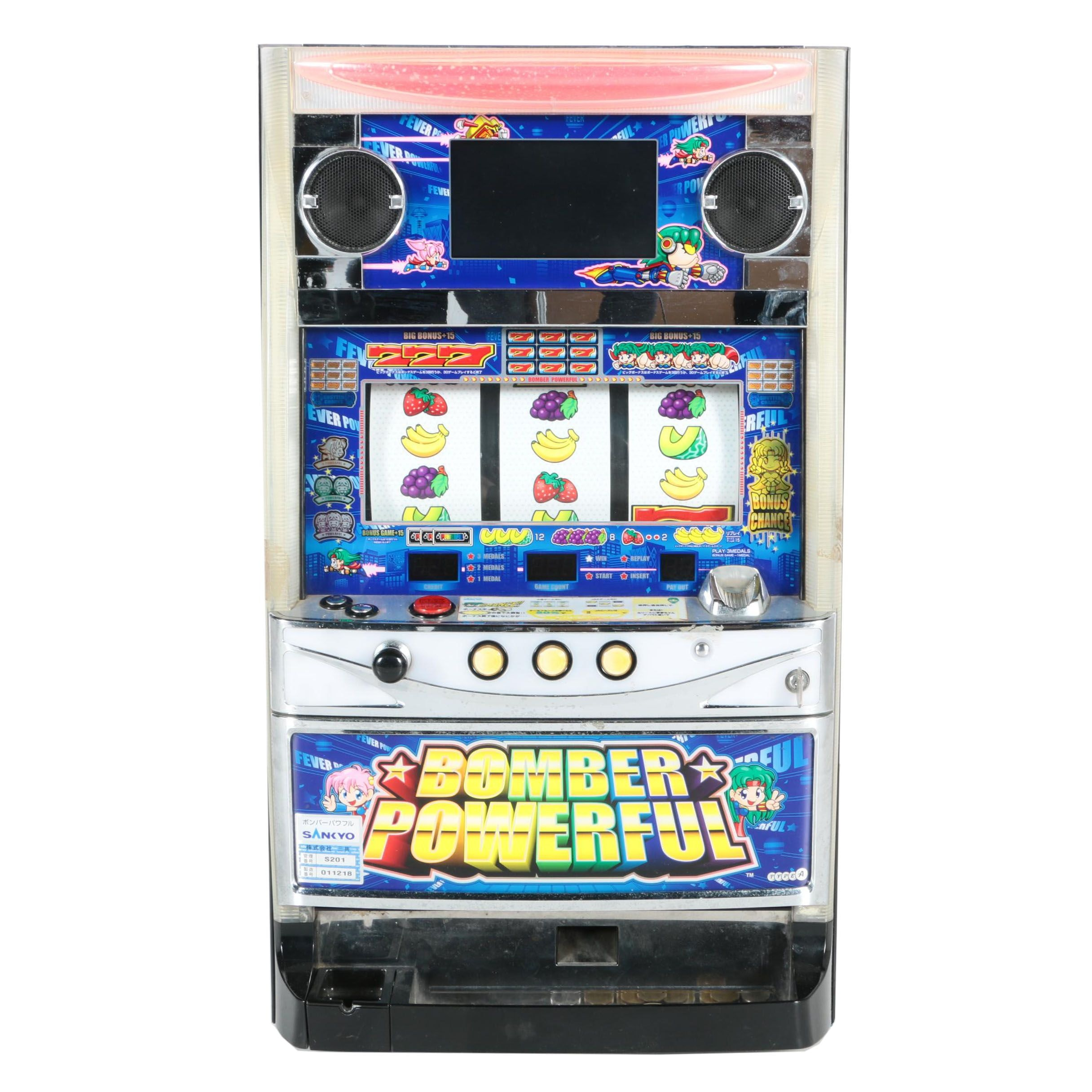 """Bomber Powerful"" Pachislo Skill-Slot Machine"