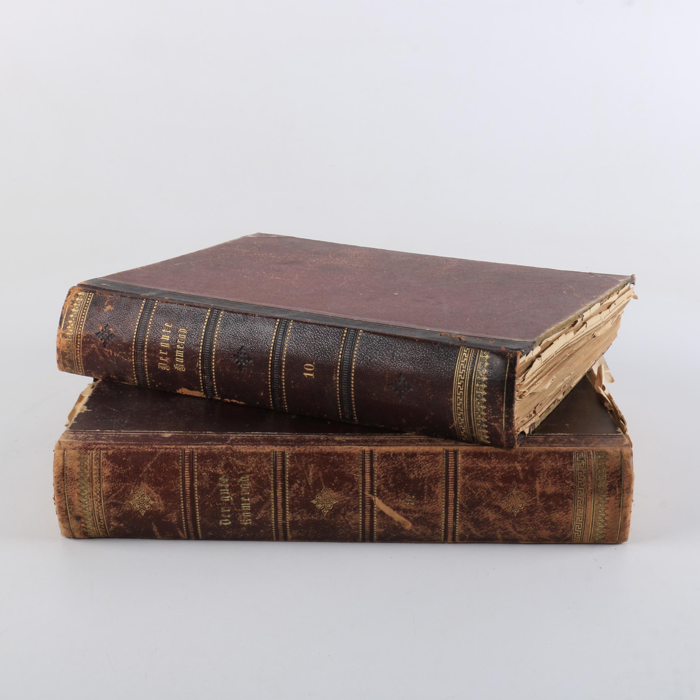 """Antique """"Der Gute Kamerad"""" in Two Volumes"""