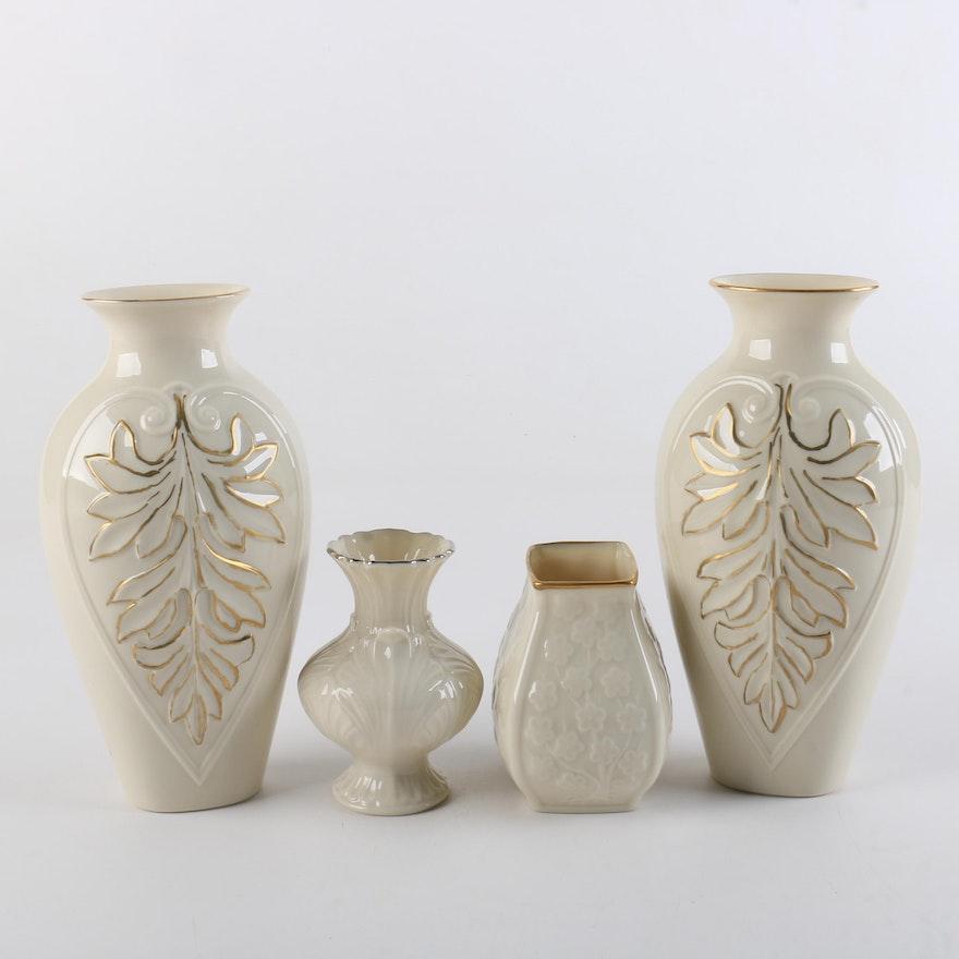 Lenox Porcelain Vases Ebth