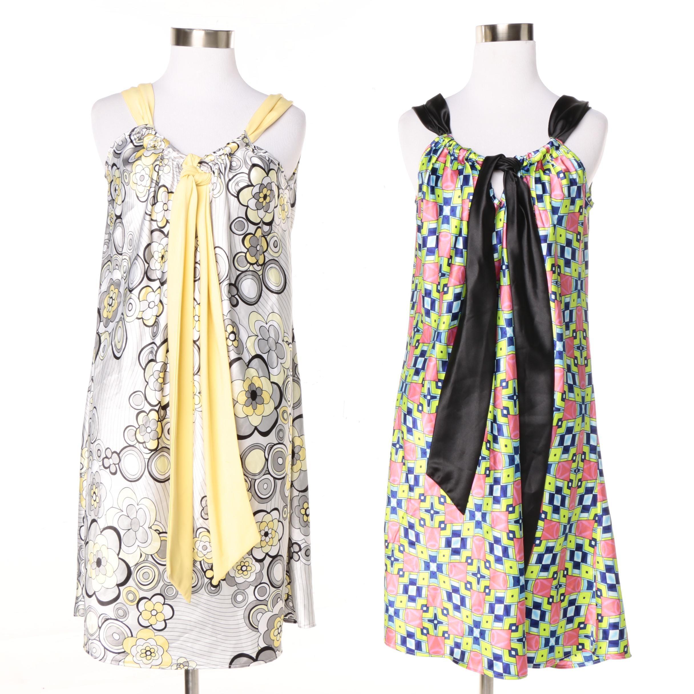 Jimmy Star Sleeveless Dresses