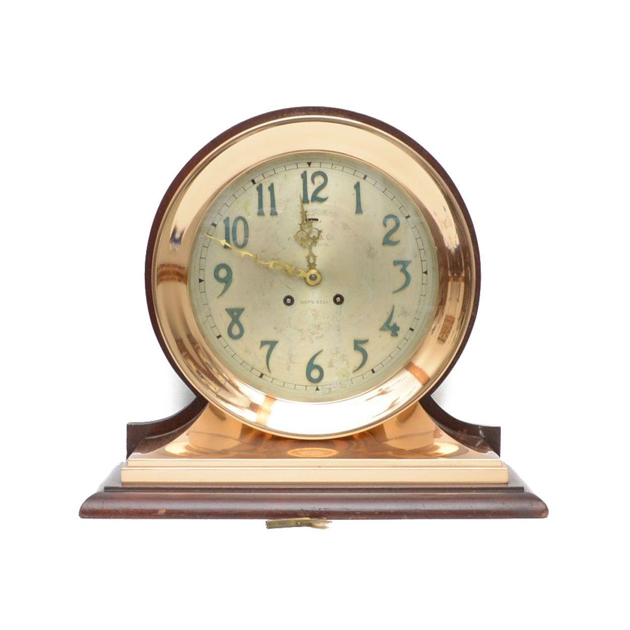 Tiffany & Co. Chelsea Ship's Bell Clock