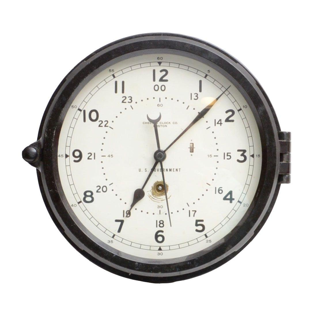 Chelsea Boston U.S Government Ship's Clock
