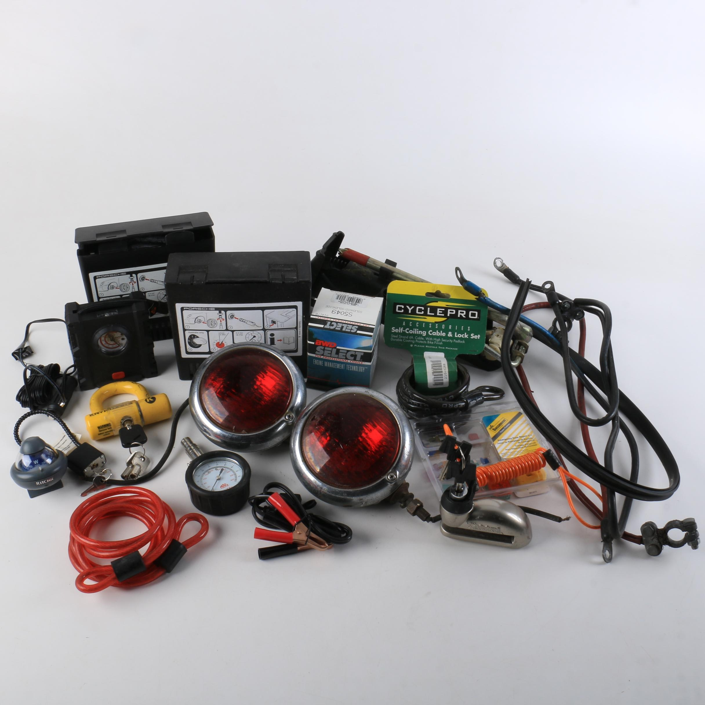 Assorted Car Parts and Equipment