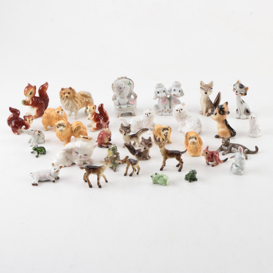 Assorted Miniature Animal Figurines