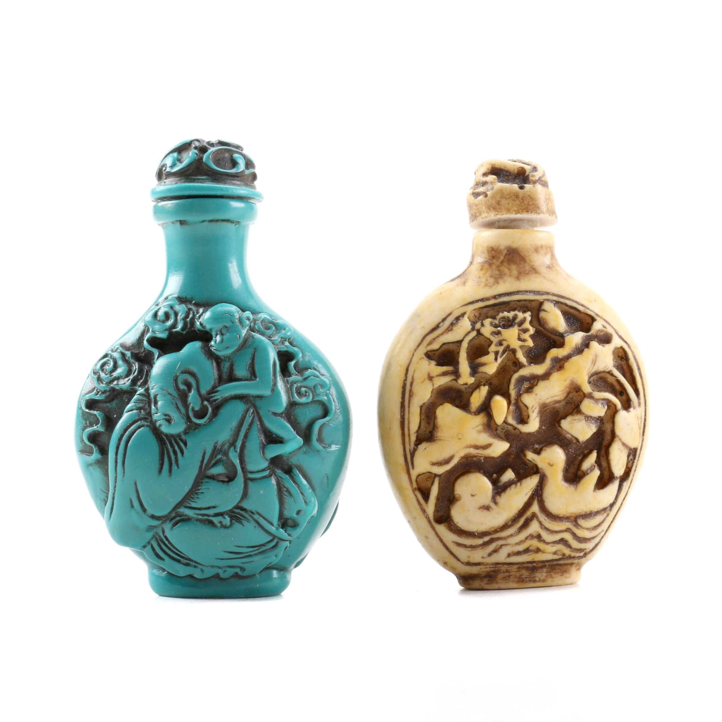 Chinese Resin Snuff Bottles