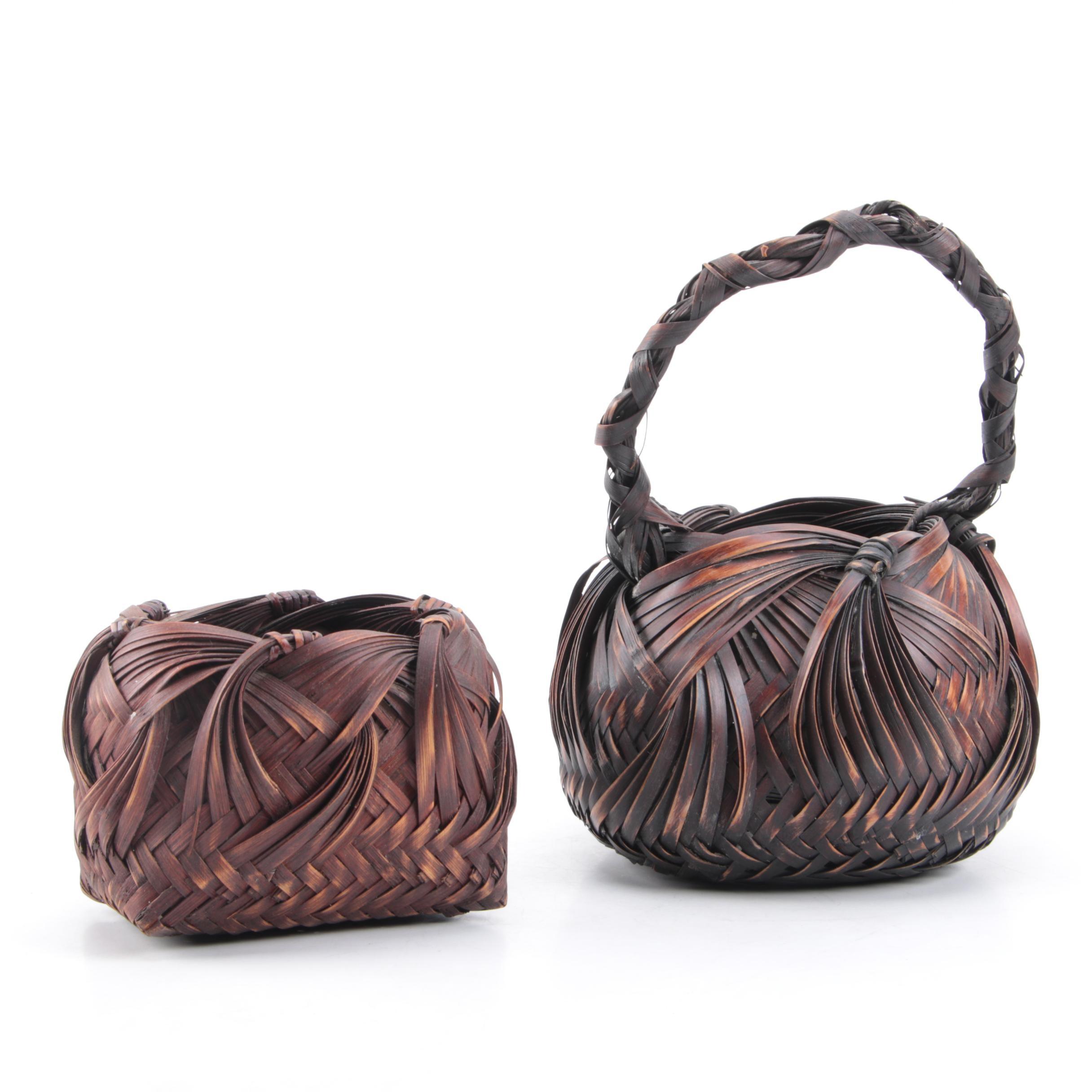 Japanese Ikebana Baskets