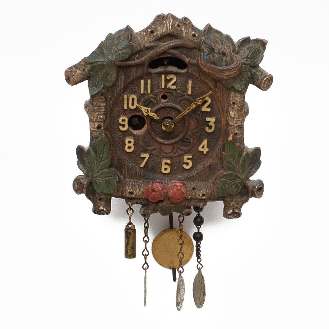 Miniature August Keebler Cuckoo Clock, circa 1920's