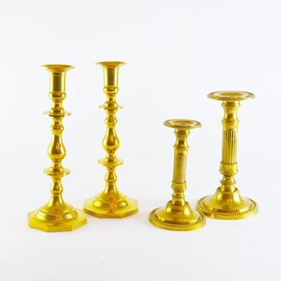 Brass Candlestick Collection