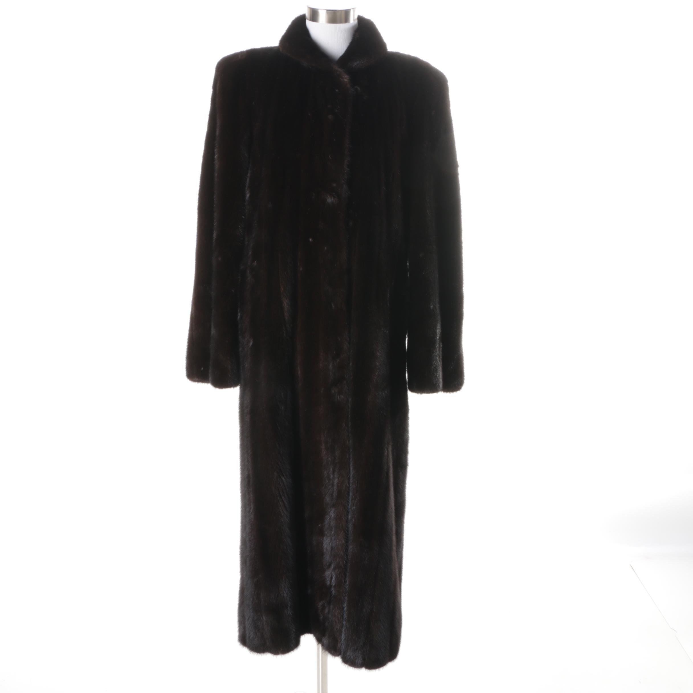Vintage Mink Fur Coat by Bay Shore Furs