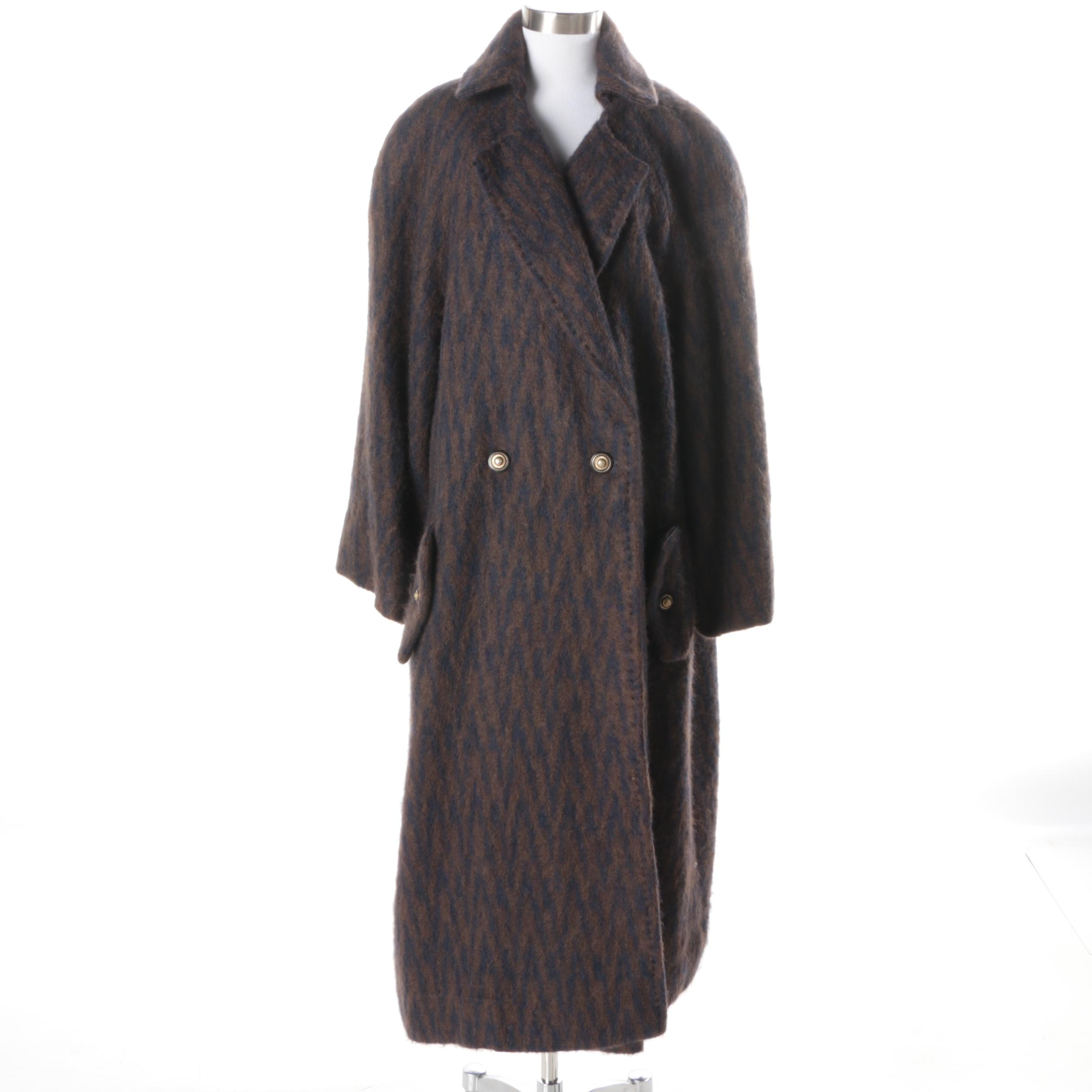 Women's Vintage Mohair Coat