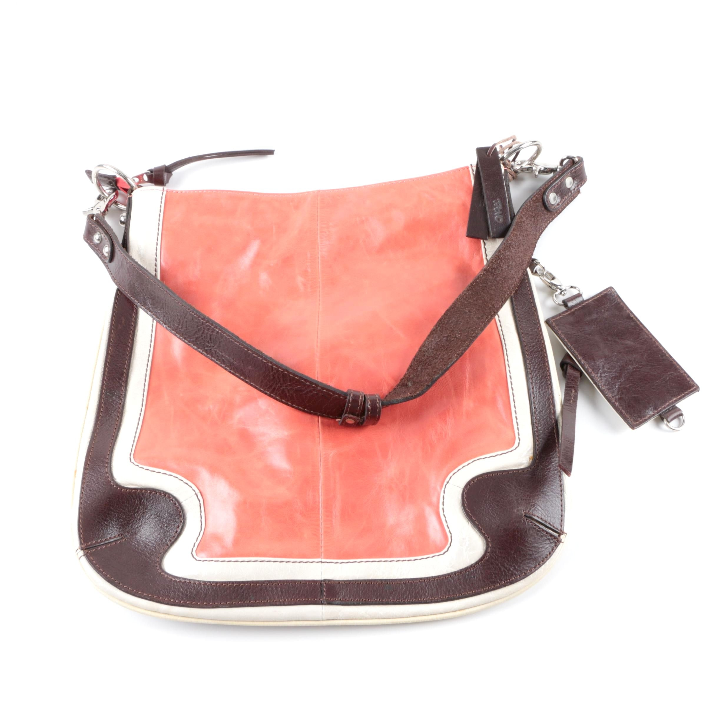 Tano Leather Shoulder Bag