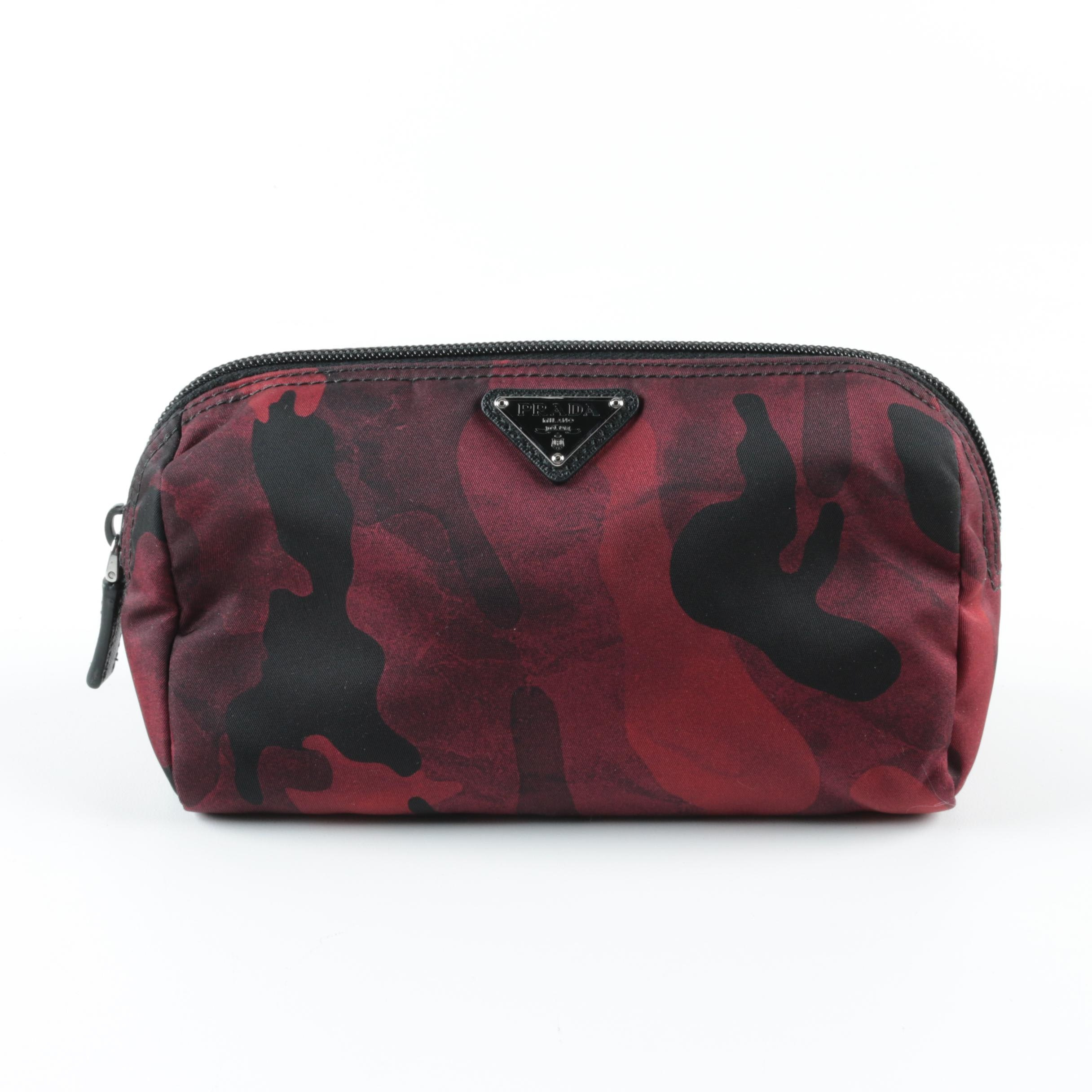 Prada Camouflage Cosmetics Bag