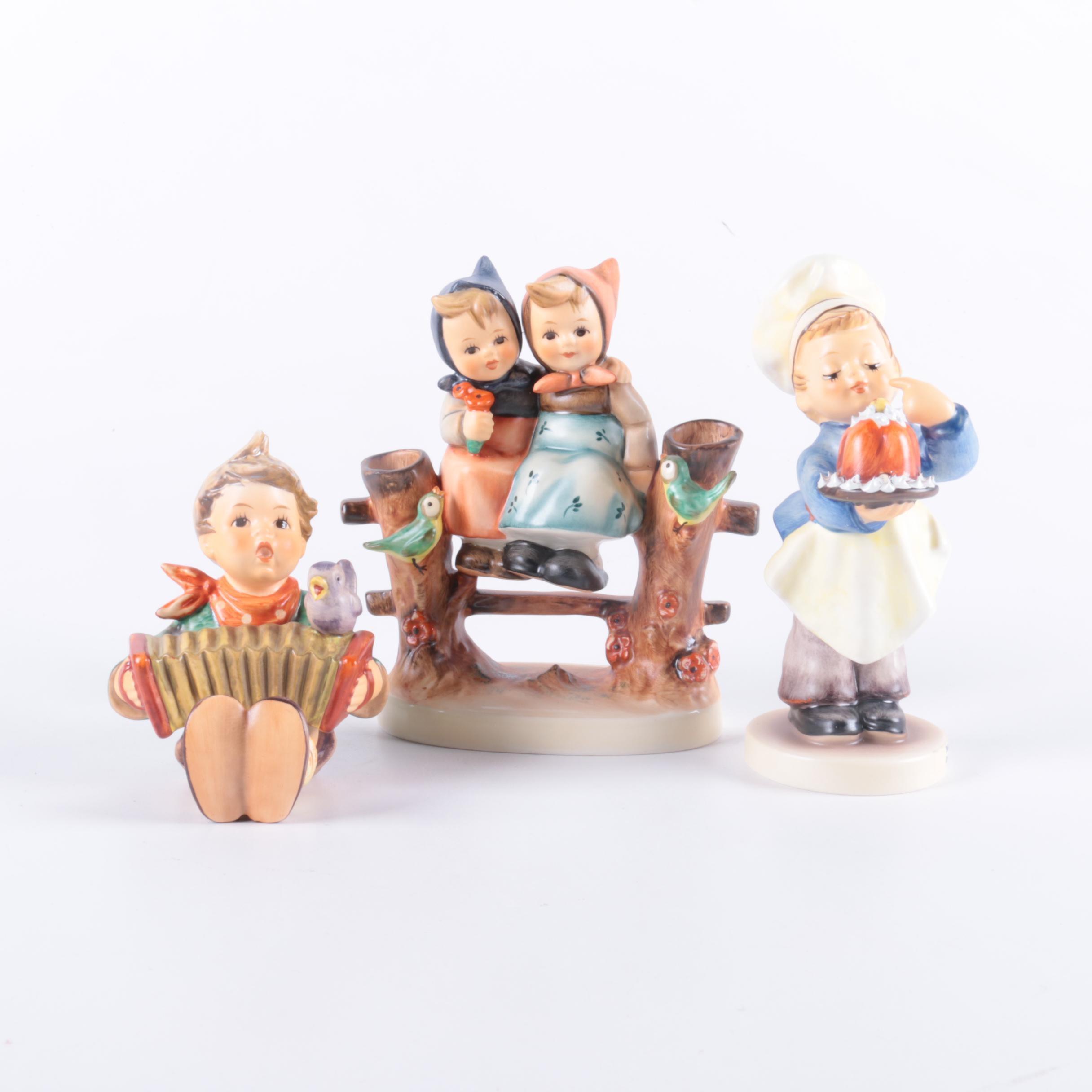 Three Goebel Hummel Figurines