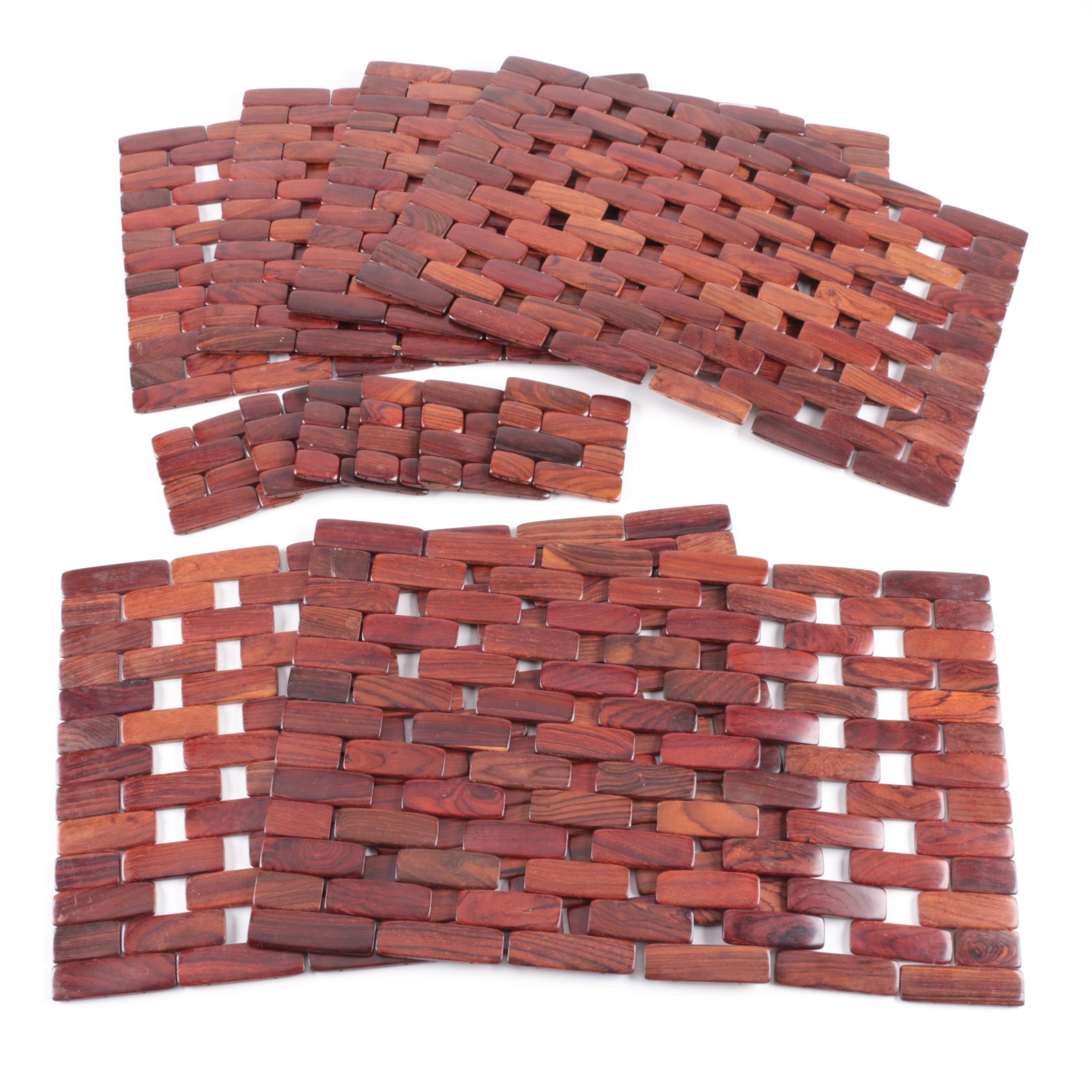 Wood Paneled Wall Decorations