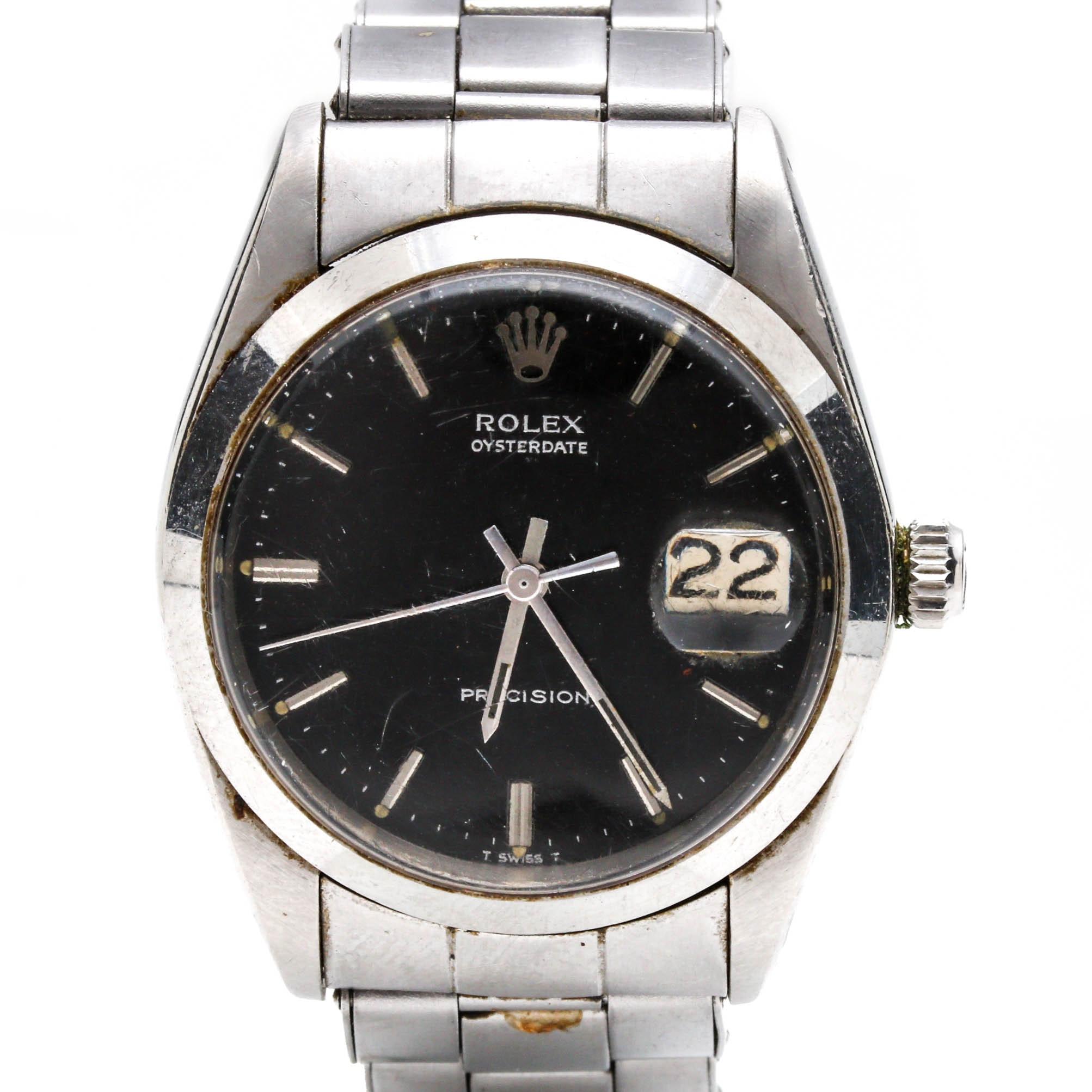 "Rolex ""Oysterdate Precision"" Wristwatch"