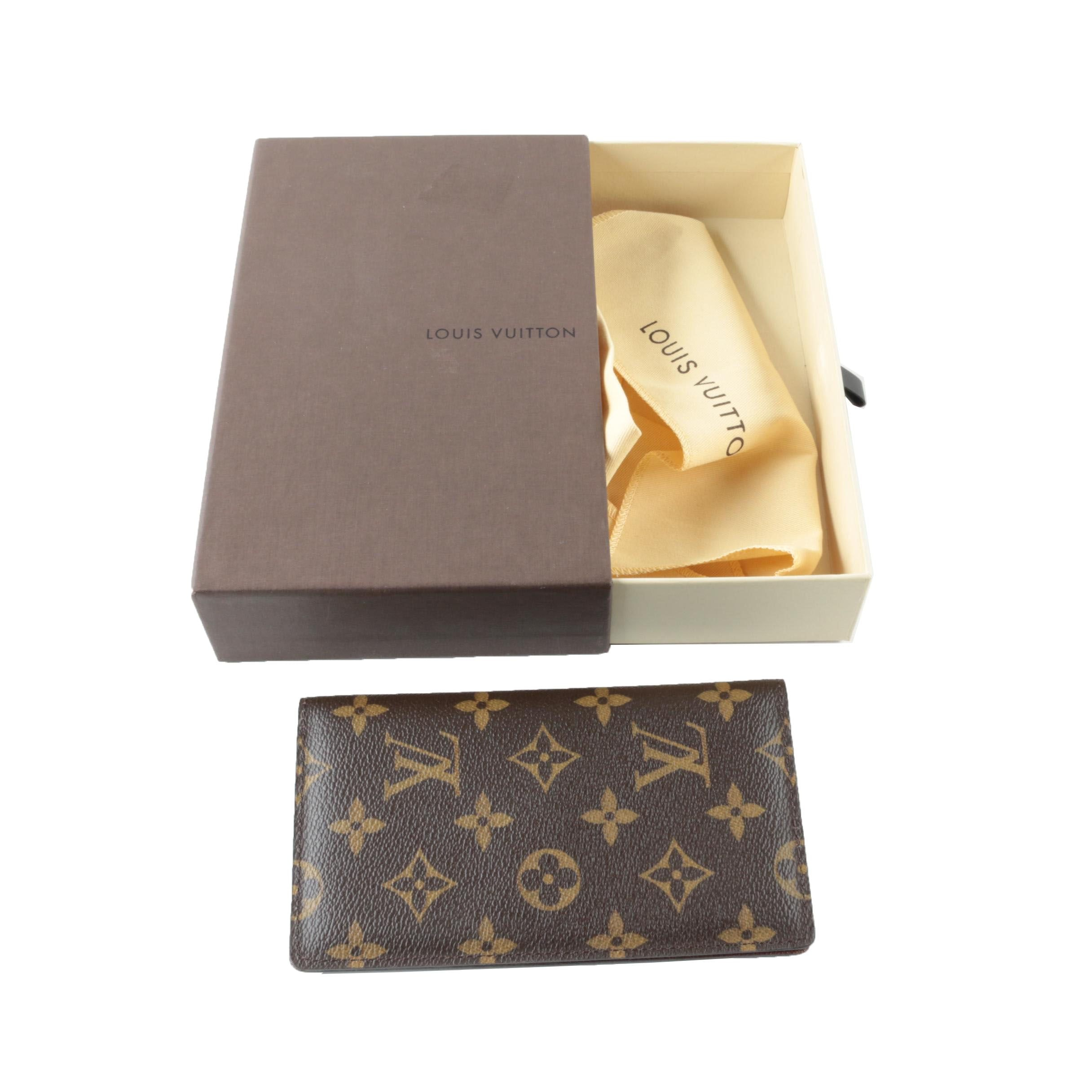 Louis Vuitton Monogram Canvas Pocket Agenda Cover