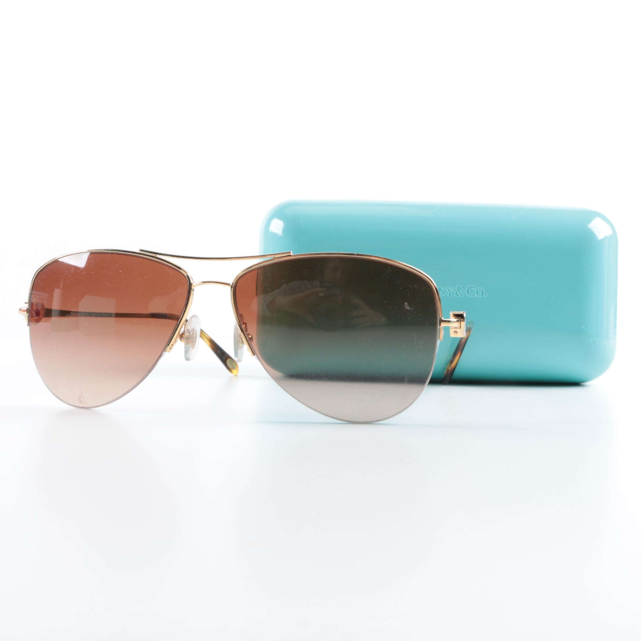 Tiffany & Co. Aviator Sunglasses