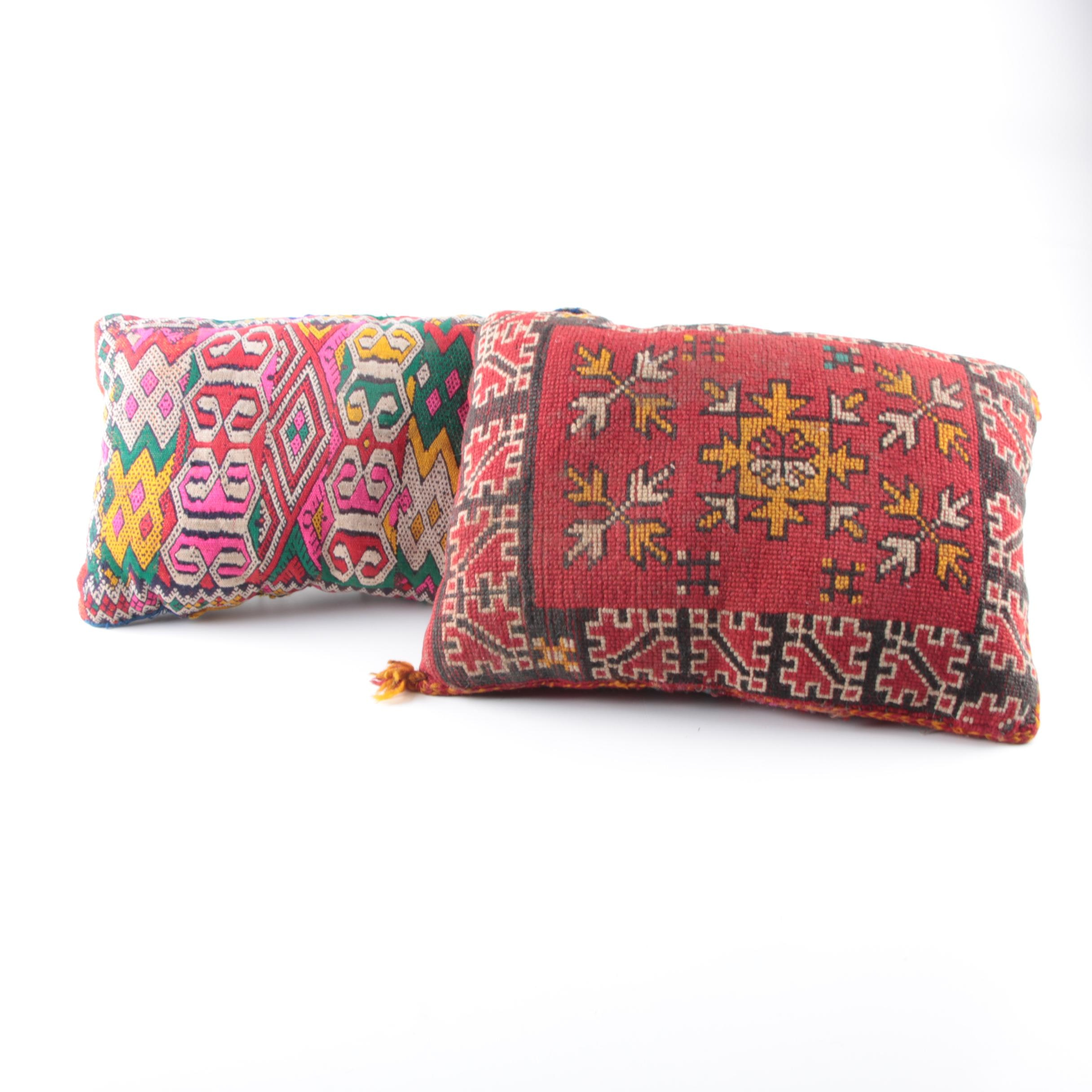 Pair of Peruvian Accent Pillows