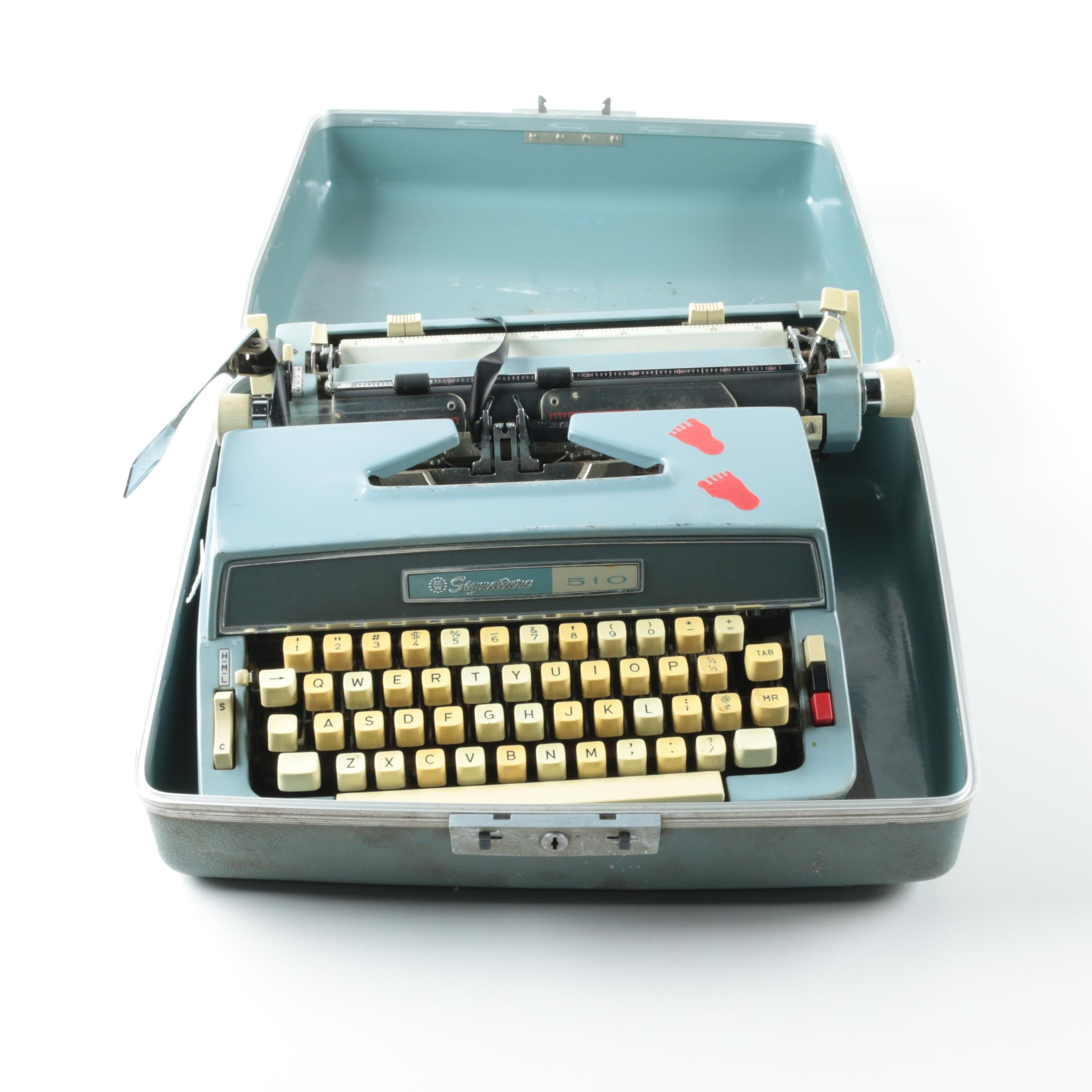 Signature 510 Typewriter