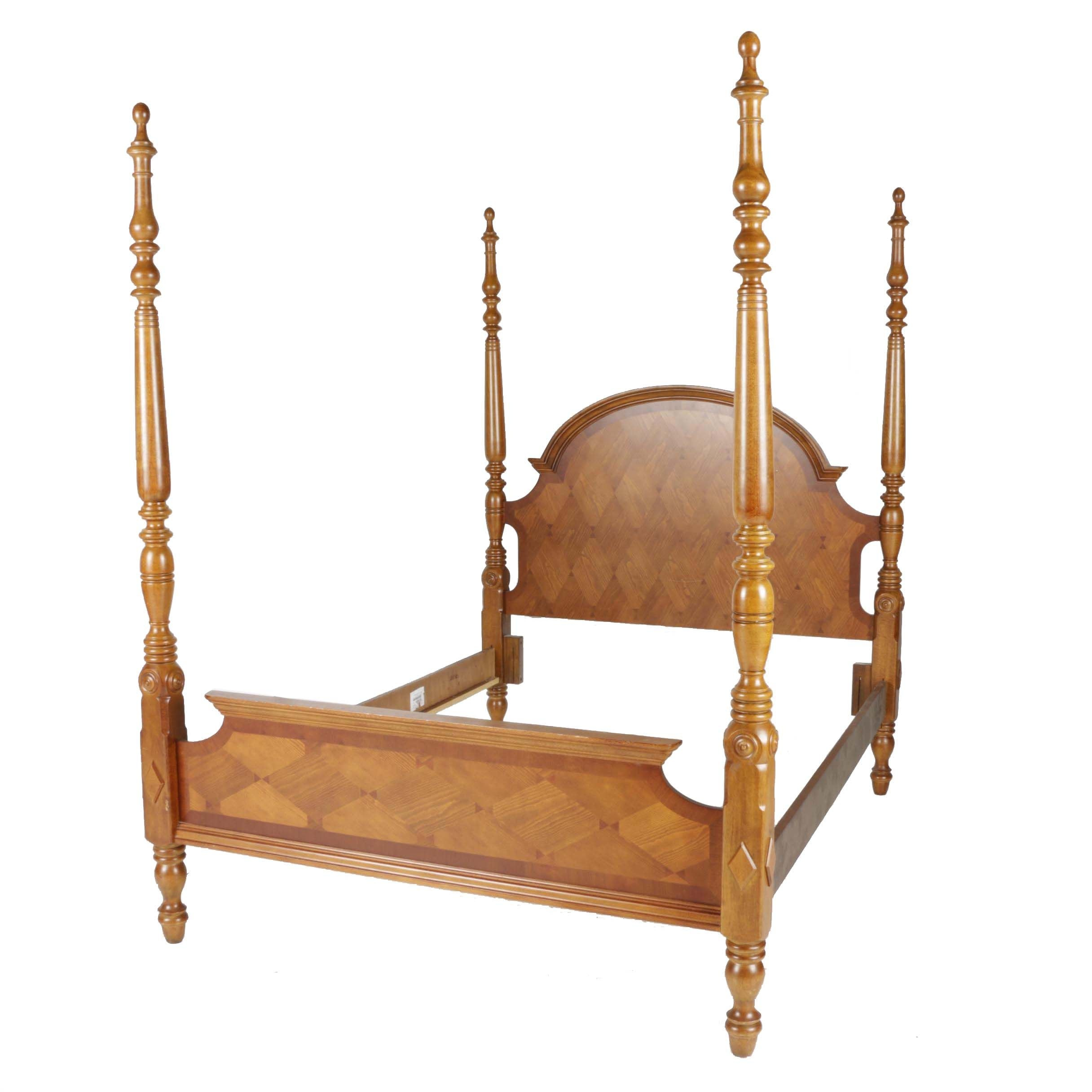 Four-Poster Queen Bed Frame by Universal Furniture