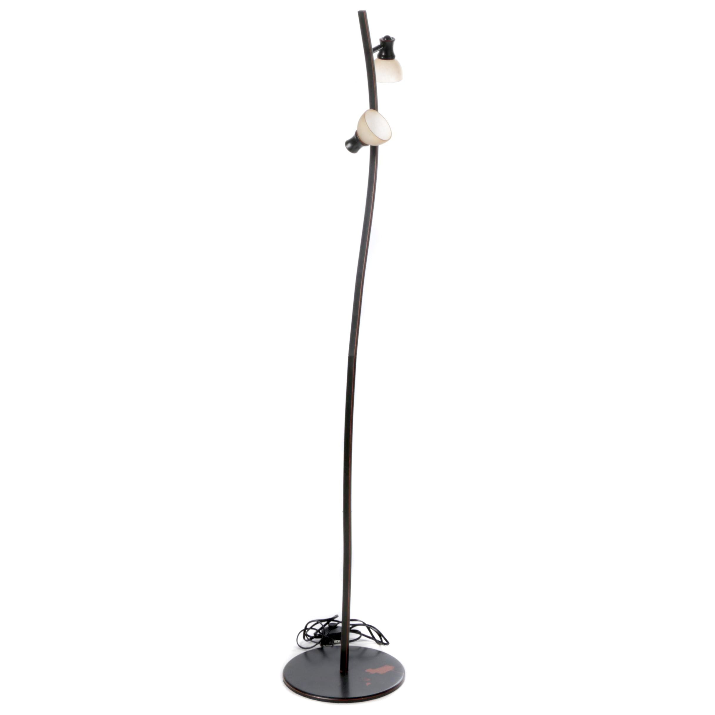 Contemporary Style Metal Floor Lamp